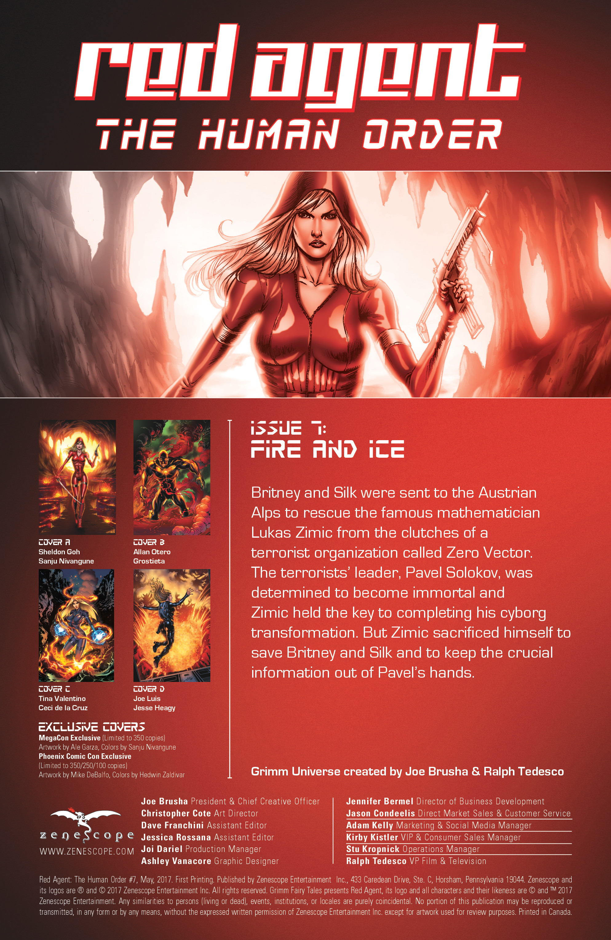 Read online Grimm Fairy Tales presents Red Agent: The Human Order comic -  Issue #7 - 2