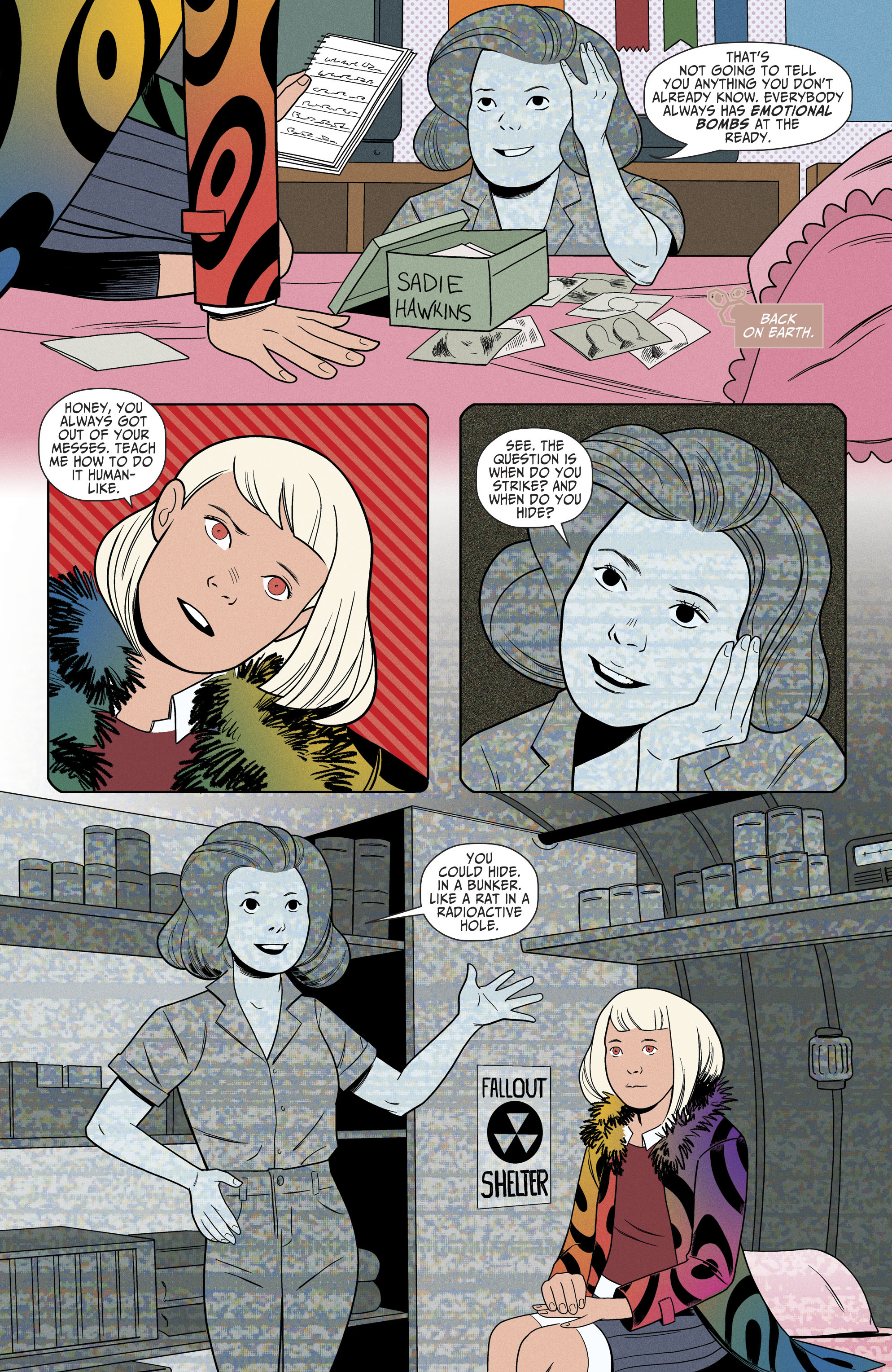 Read online Shade, the Changing Girl comic -  Issue #6 - 12