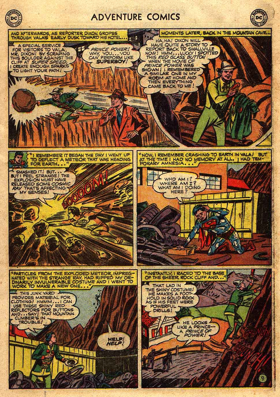 Read online Adventure Comics (1938) comic -  Issue #175 - 11