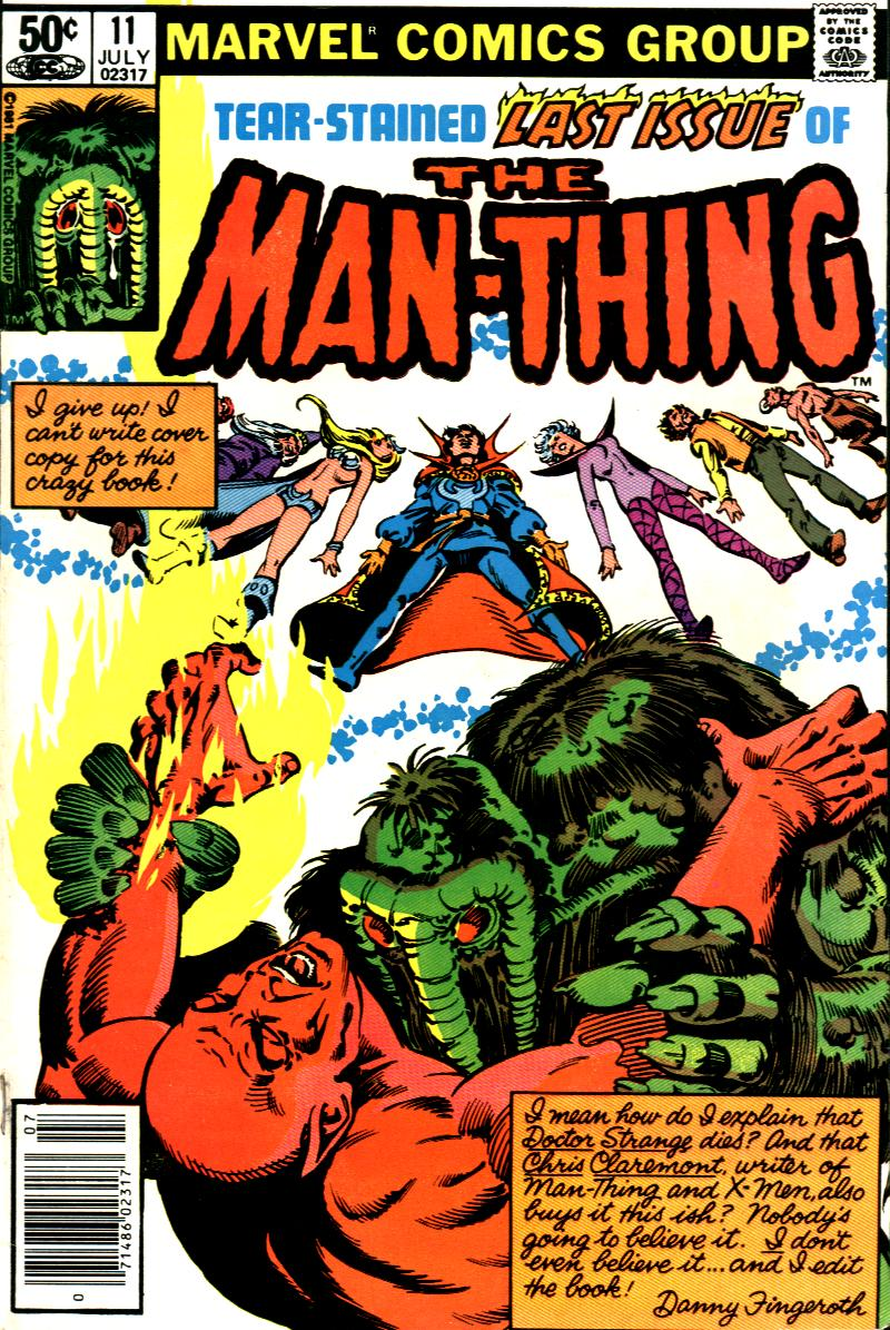 Man-Thing (1979) issue 11 - Page 1