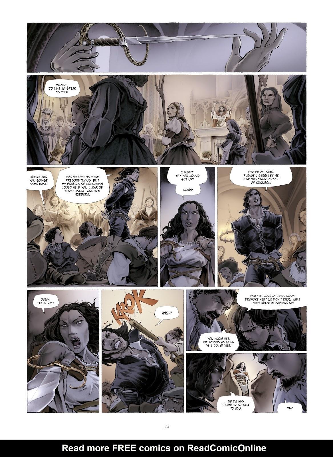 Read online Arthus Trivium comic -  Issue #4 - 34
