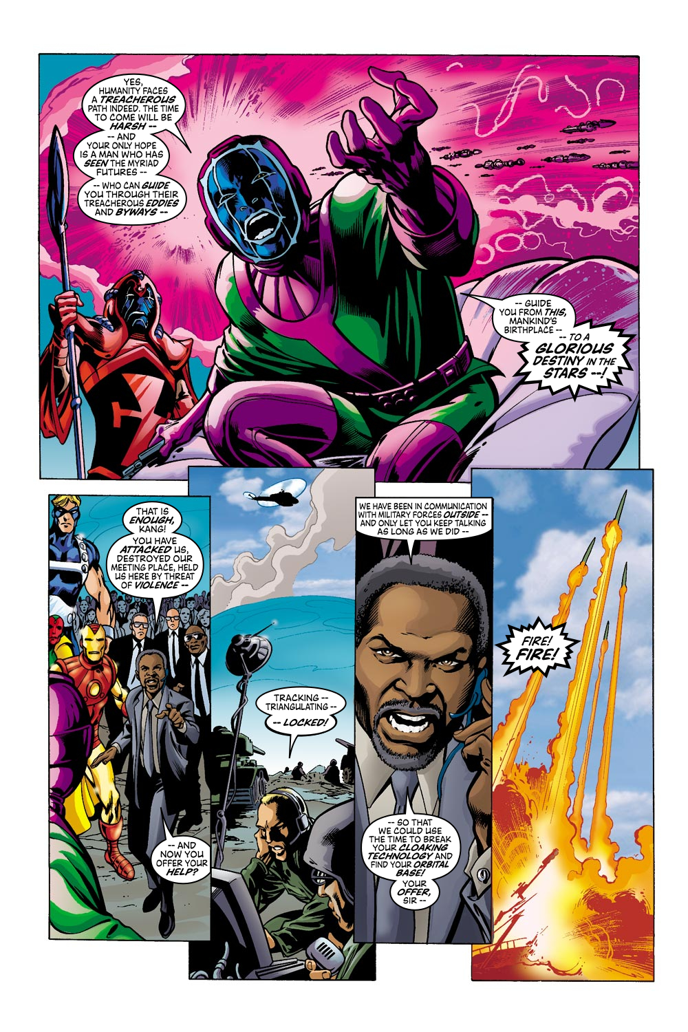 Read online Avengers (1998) comic -  Issue #42 - 12