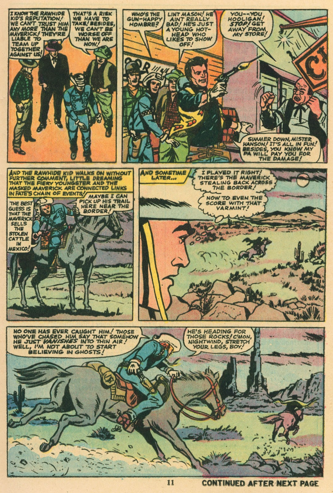 The Rawhide Kid (1955) issue 117 - Page 8