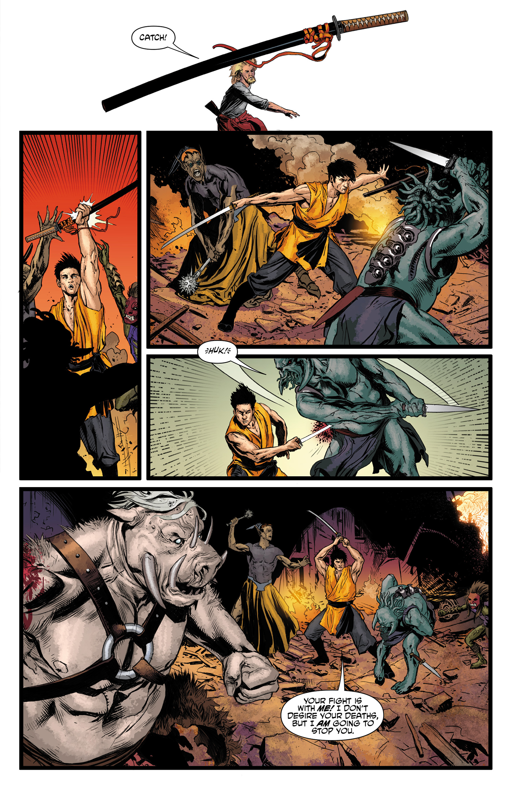 Read online King Tiger comic -  Issue #3 - 13