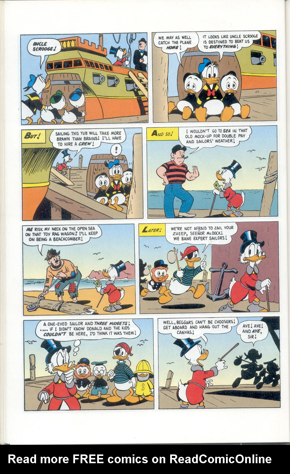 Read online Uncle Scrooge (1953) comic -  Issue #310 - 62