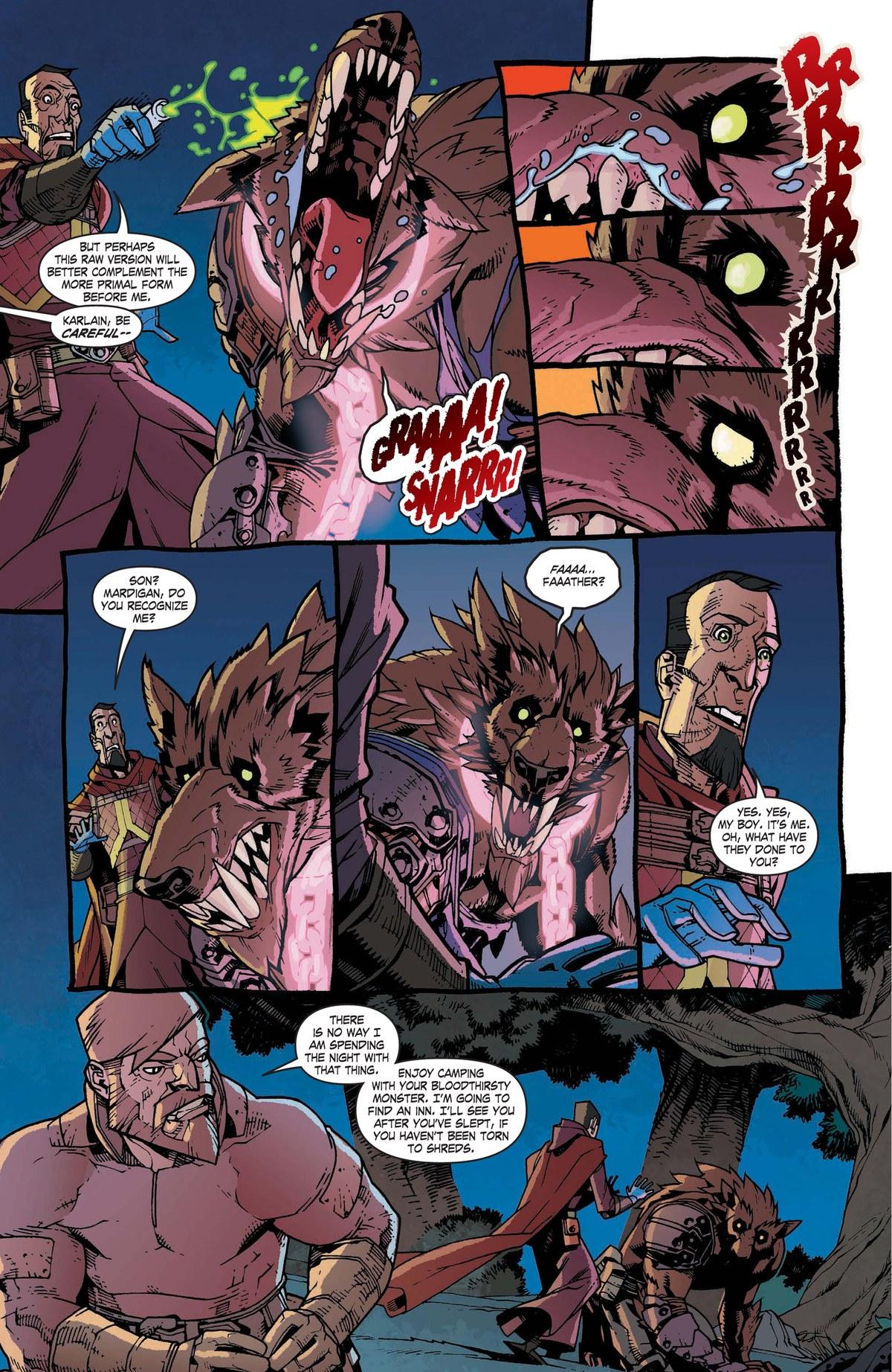 Read online World of Warcraft: Dark Riders comic -  Issue # Full - 80