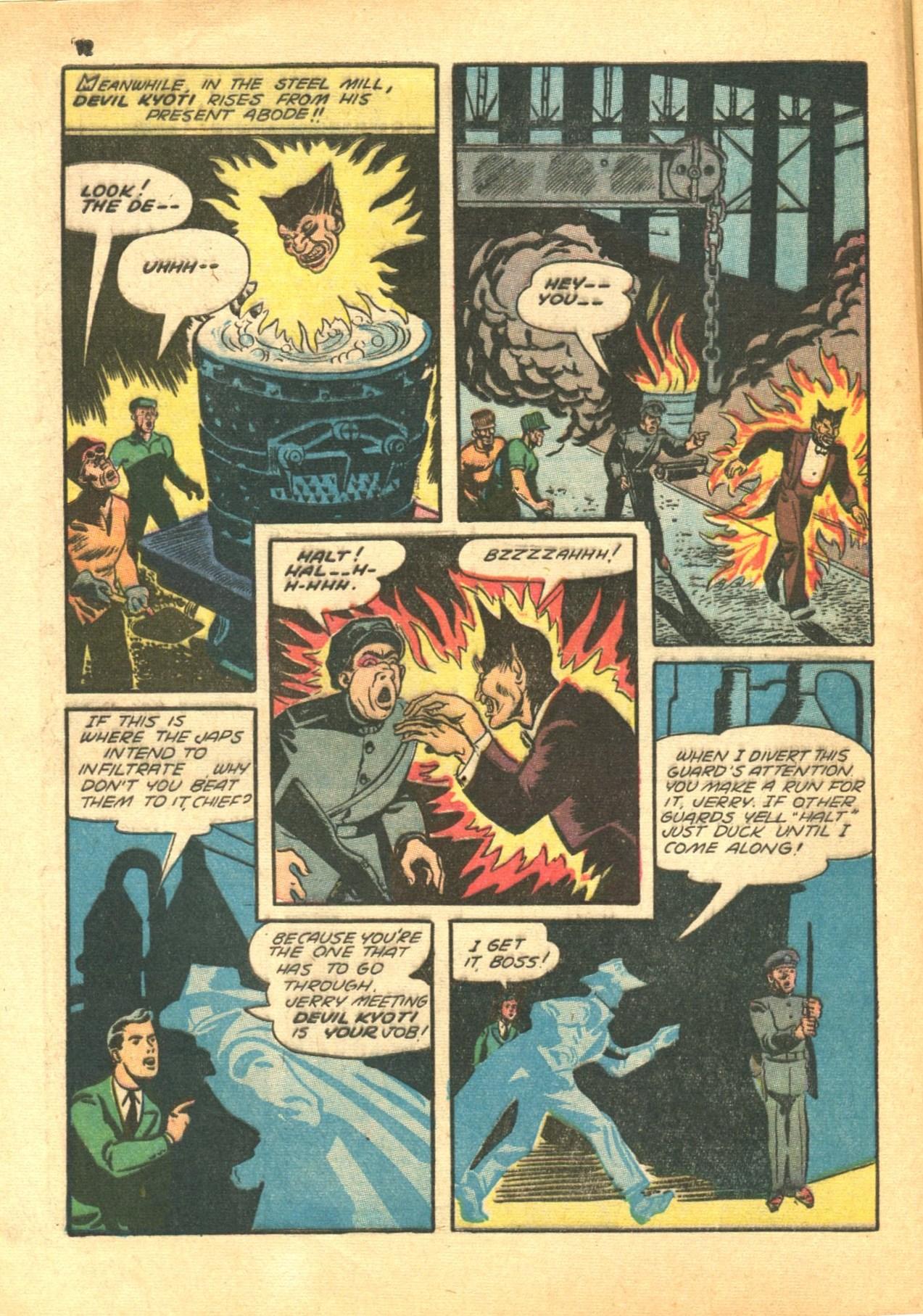 Read online Shadow Comics comic -  Issue #24 - 12