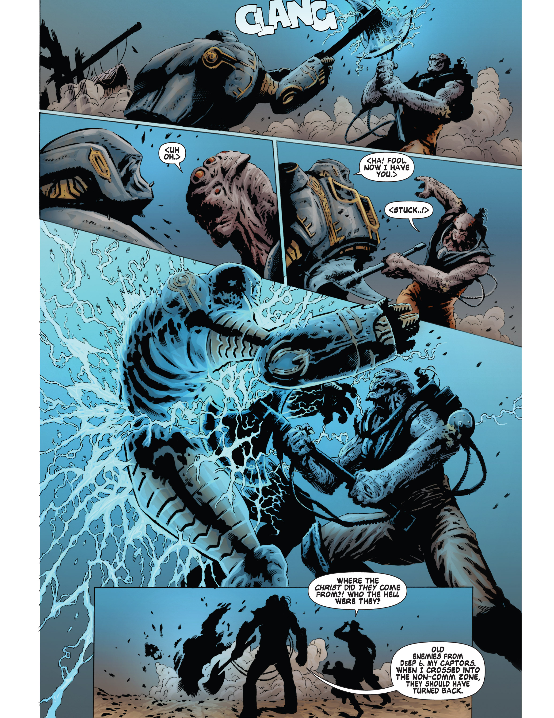 Read online Bad Planet comic -  Issue # TPB - 120