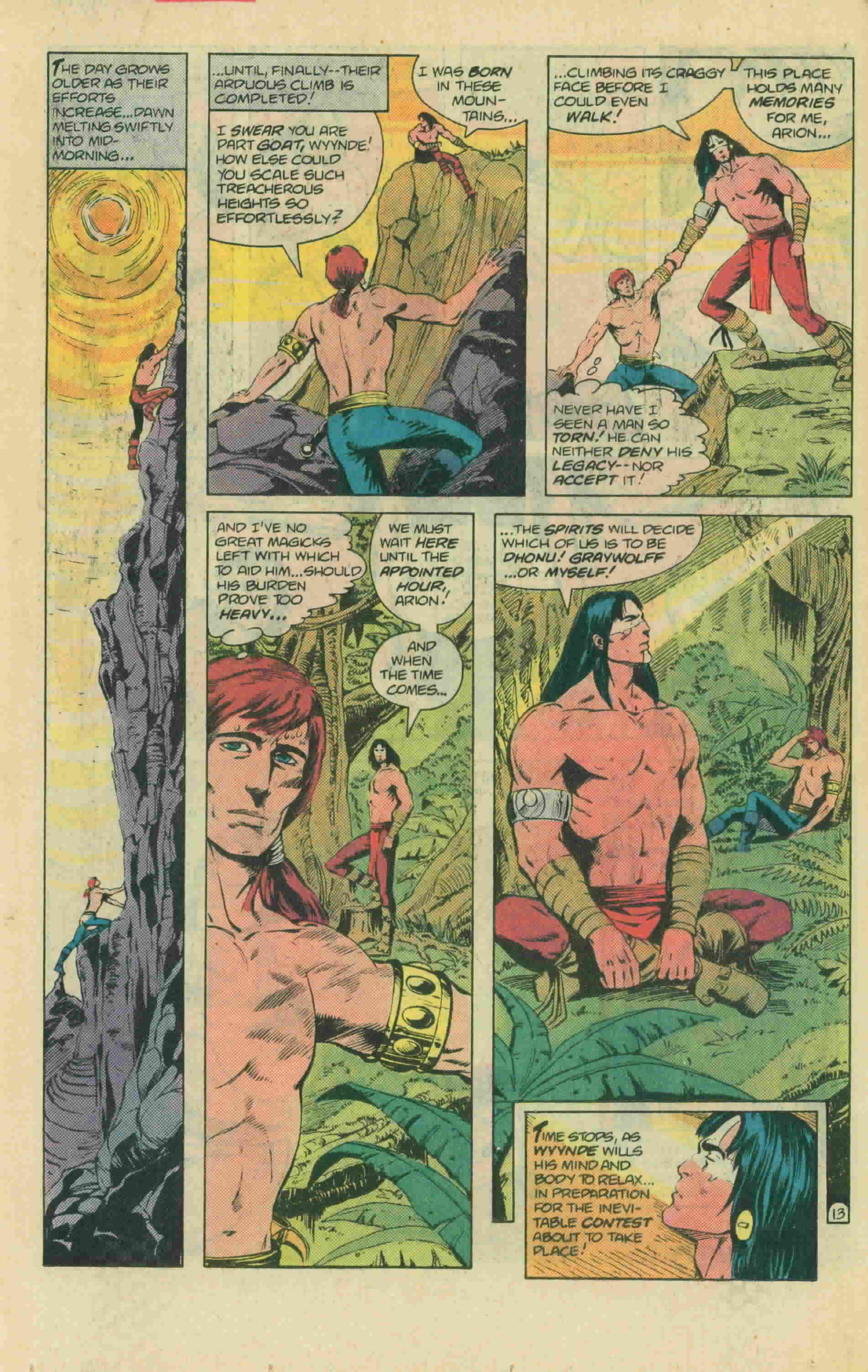 Read online Arion, Lord of Atlantis comic -  Issue #13 - 19
