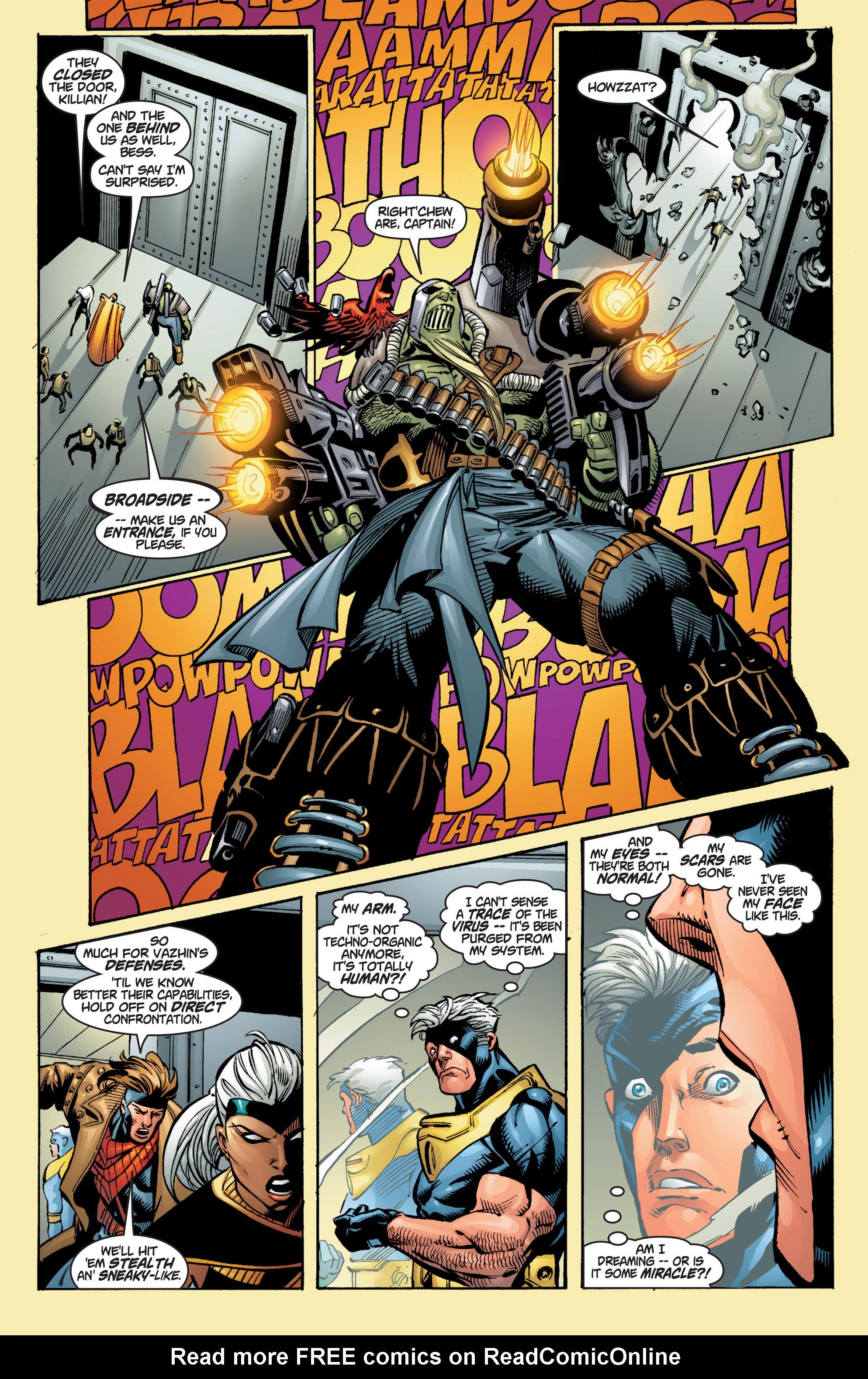 Read online Uncanny X-Men (1963) comic -  Issue #384 - 14