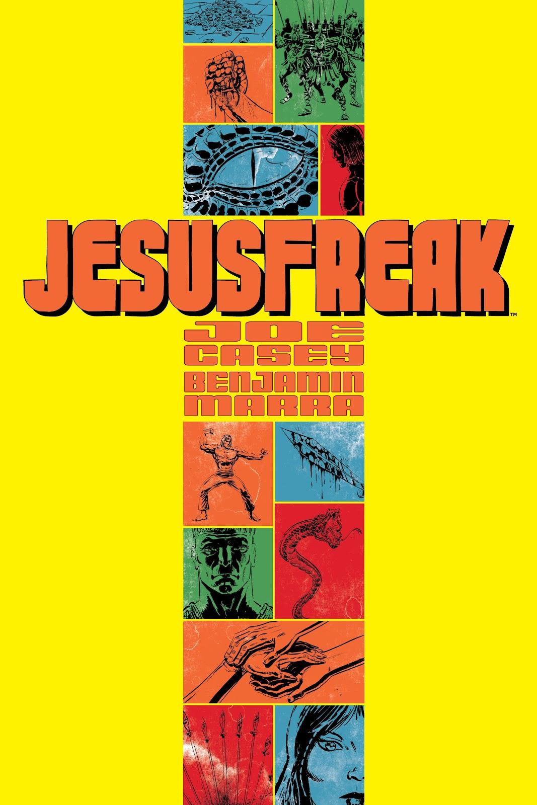 Read online Jesusfreak comic -  Issue # Full - 1