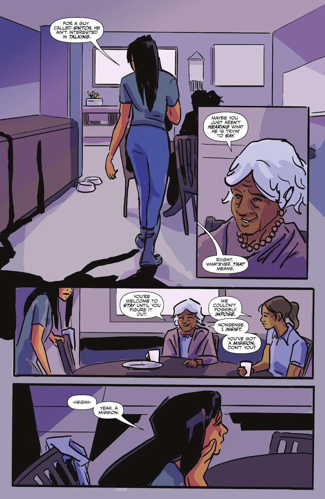 Read online Black (AF): Devil's Dye comic -  Issue #3 - 10
