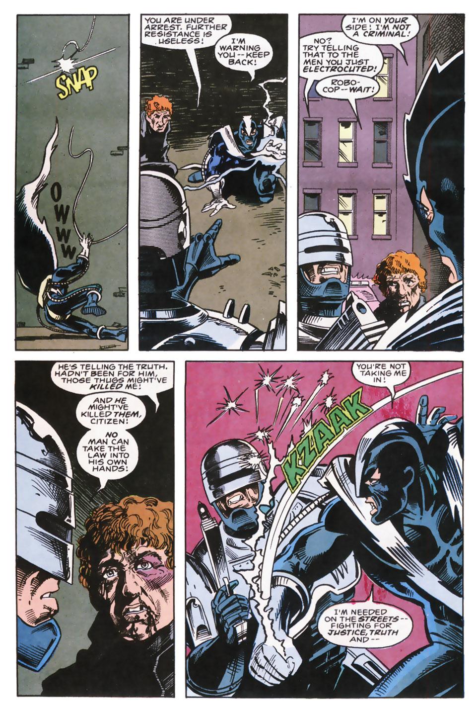 Read online Robocop (1990) comic -  Issue #9 - 5