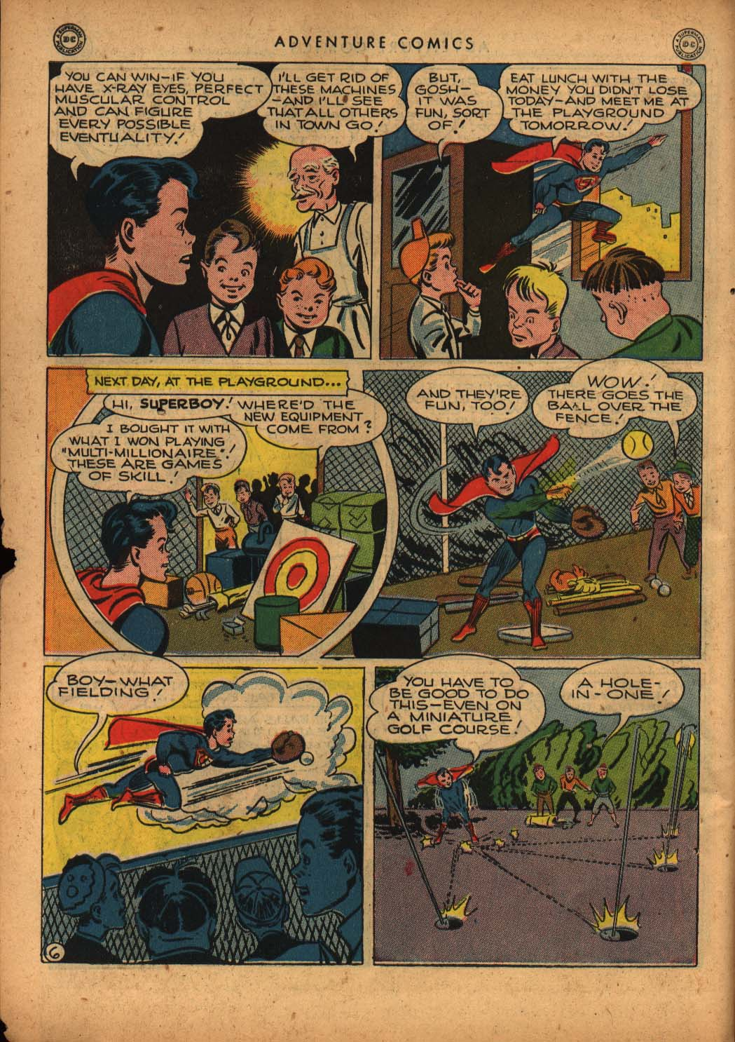 Read online Adventure Comics (1938) comic -  Issue #109 - 8