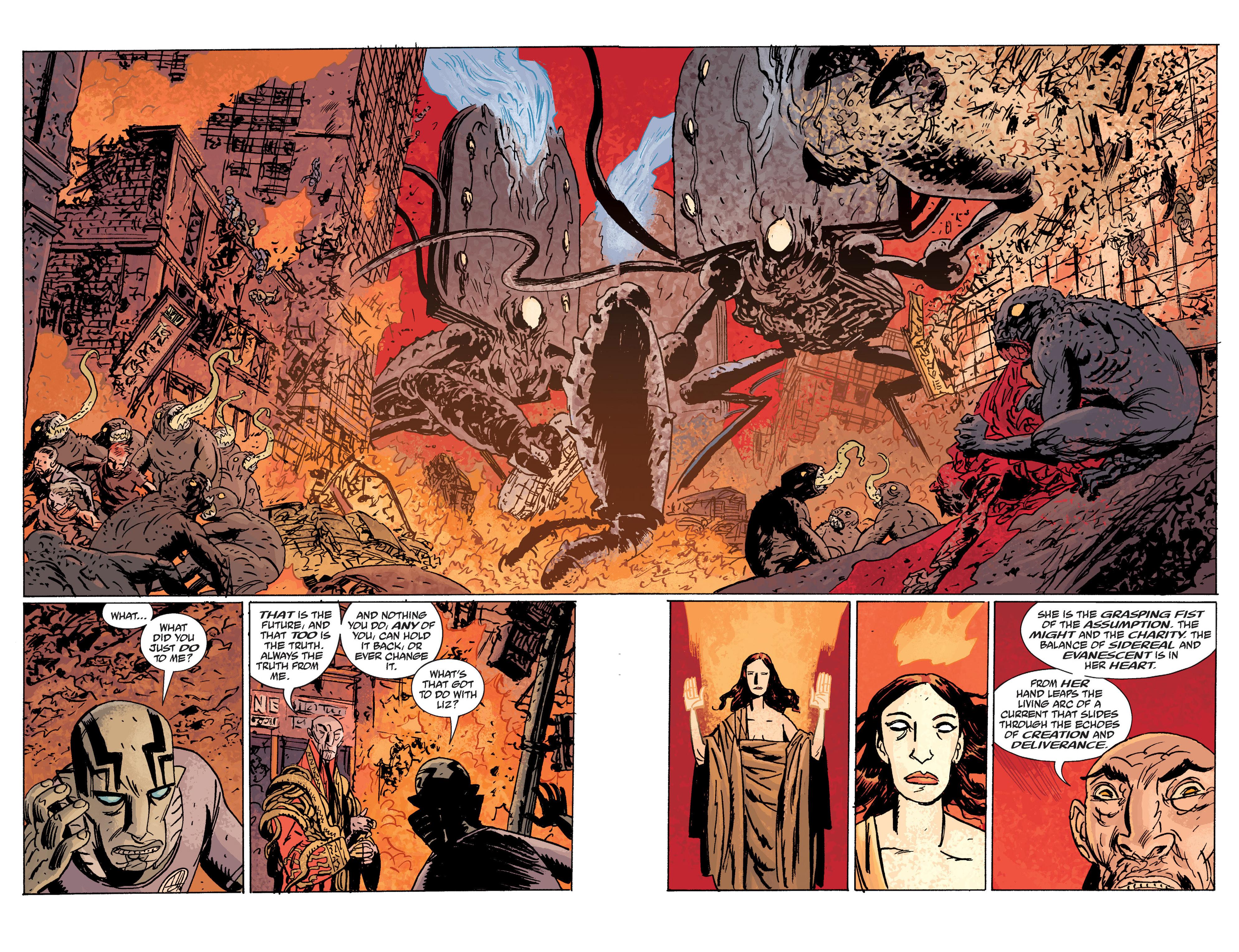 Read online B.P.R.D. (2003) comic -  Issue # TPB 10 - 134