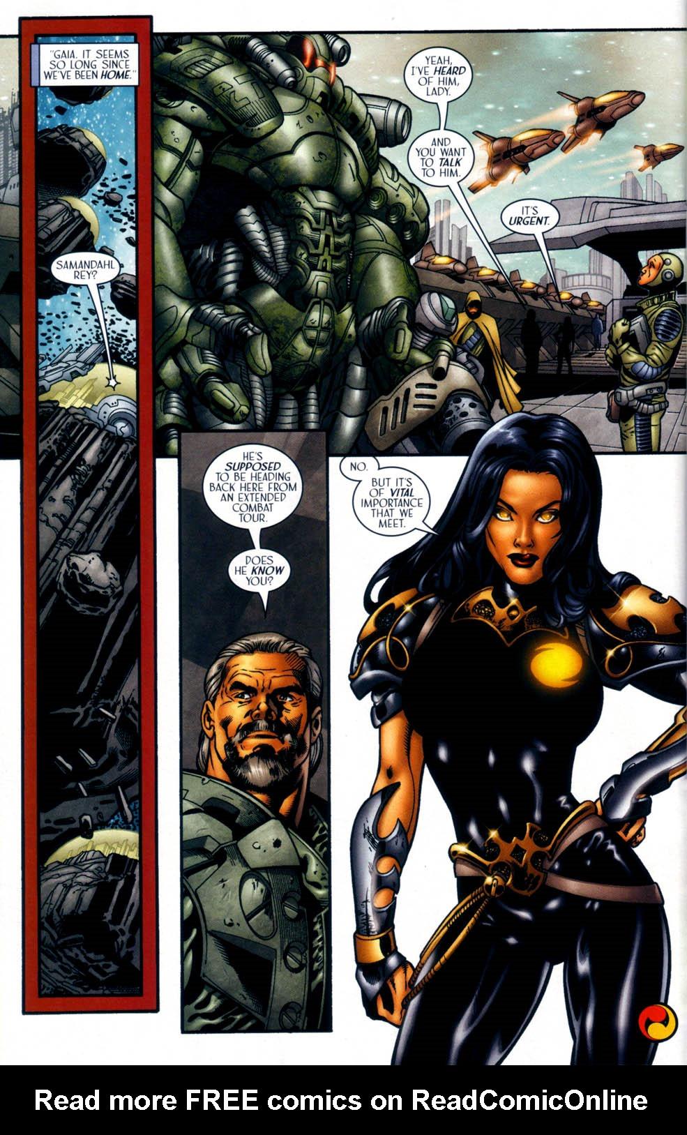 Read online Sigil (2000) comic -  Issue #33 - 21