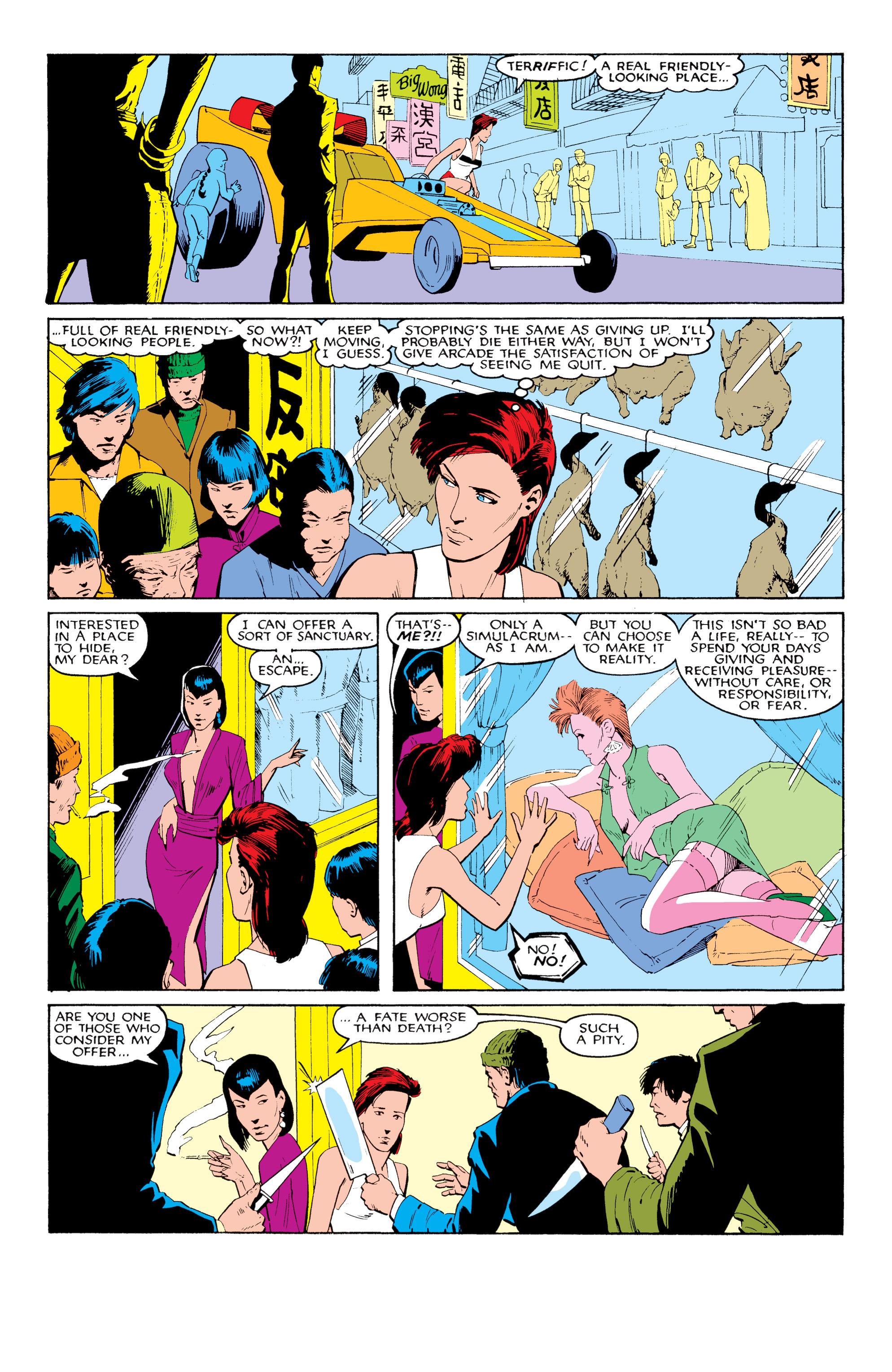 Read online Uncanny X-Men (1963) comic -  Issue #204 - 21