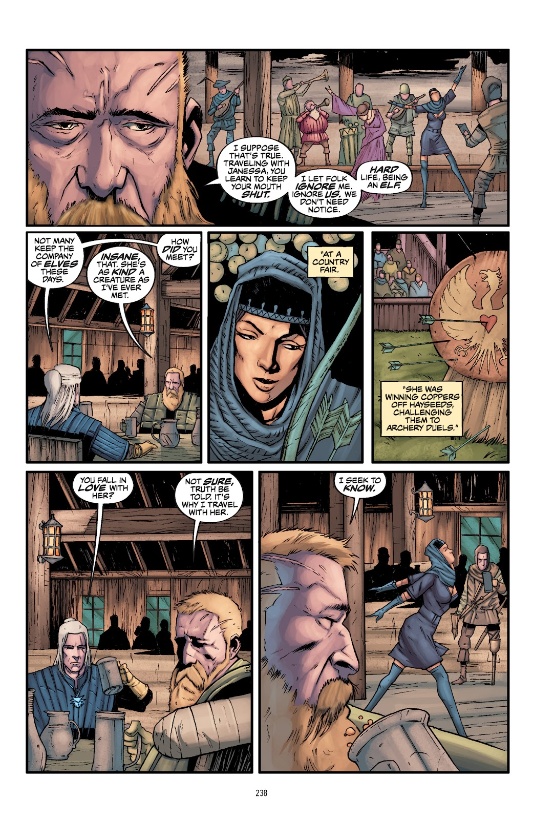 Read online The Witcher Omnibus comic -  Issue # TPB (Part 3) - 40