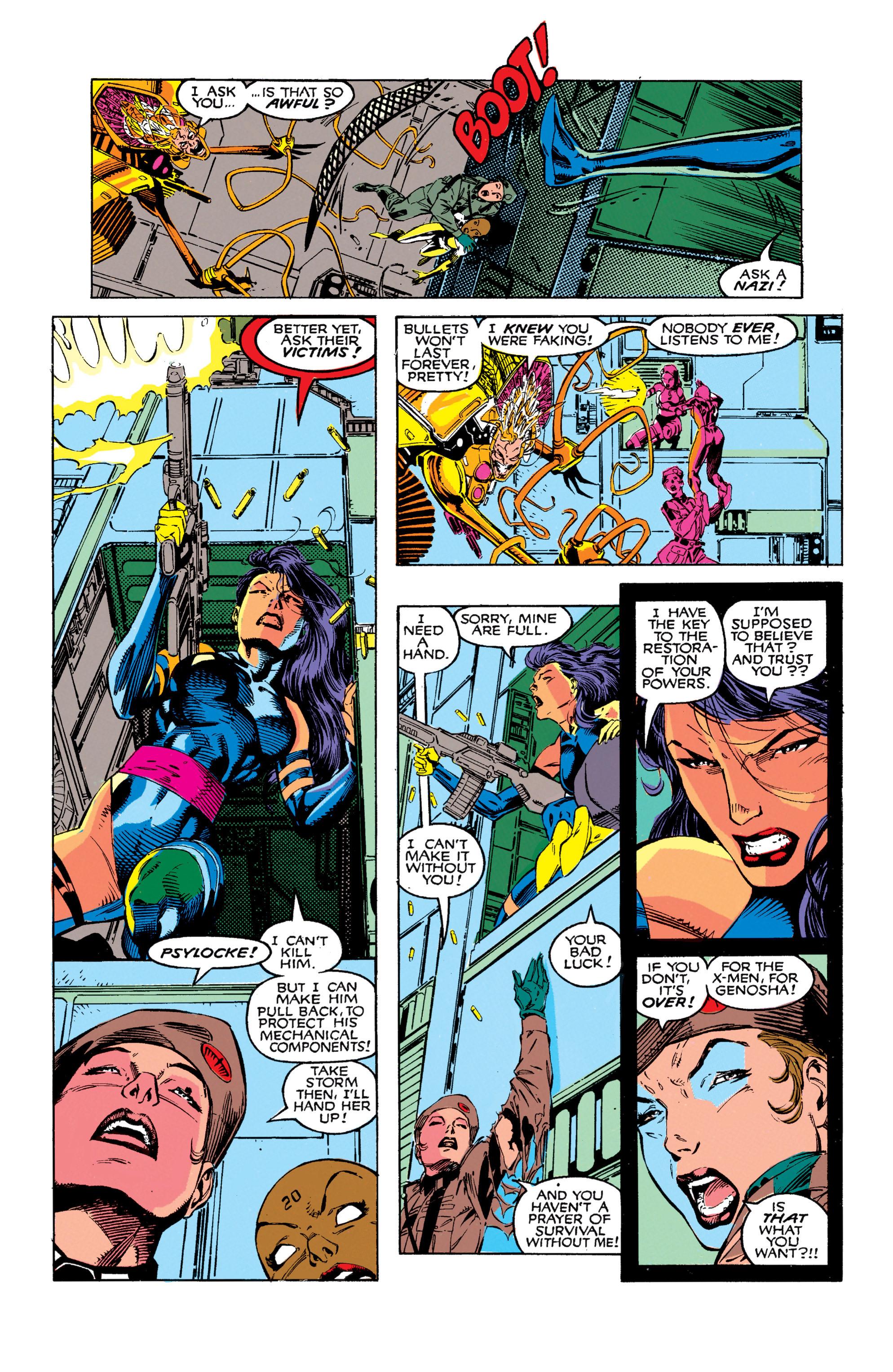 Read online Uncanny X-Men (1963) comic -  Issue #272 - 20