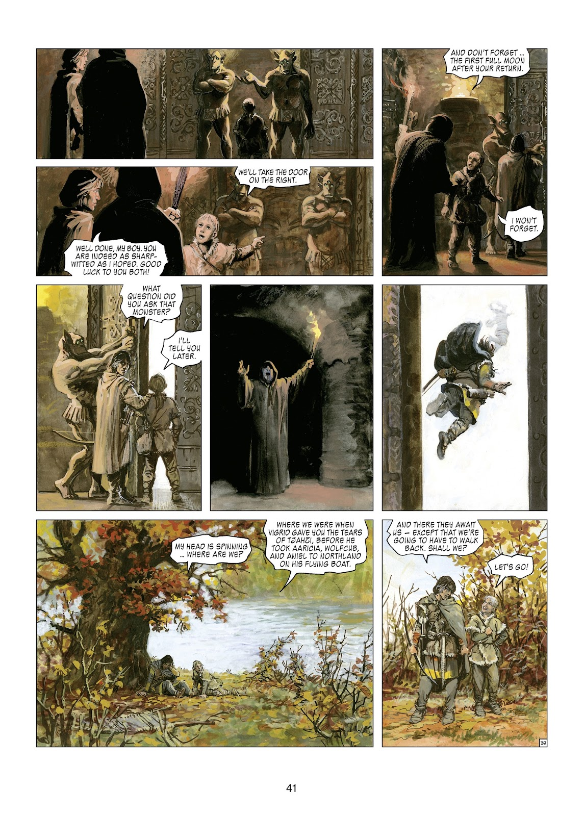 Read online Thorgal comic -  Issue #21 - 43