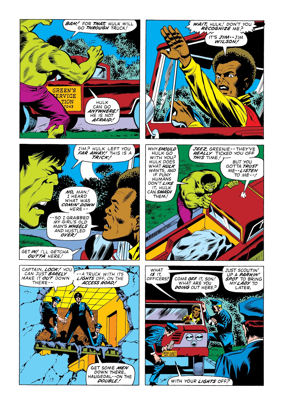 Read online Marvel Masterworks: The Incredible Hulk comic -  Issue # TPB 9 (Part 3) - 42