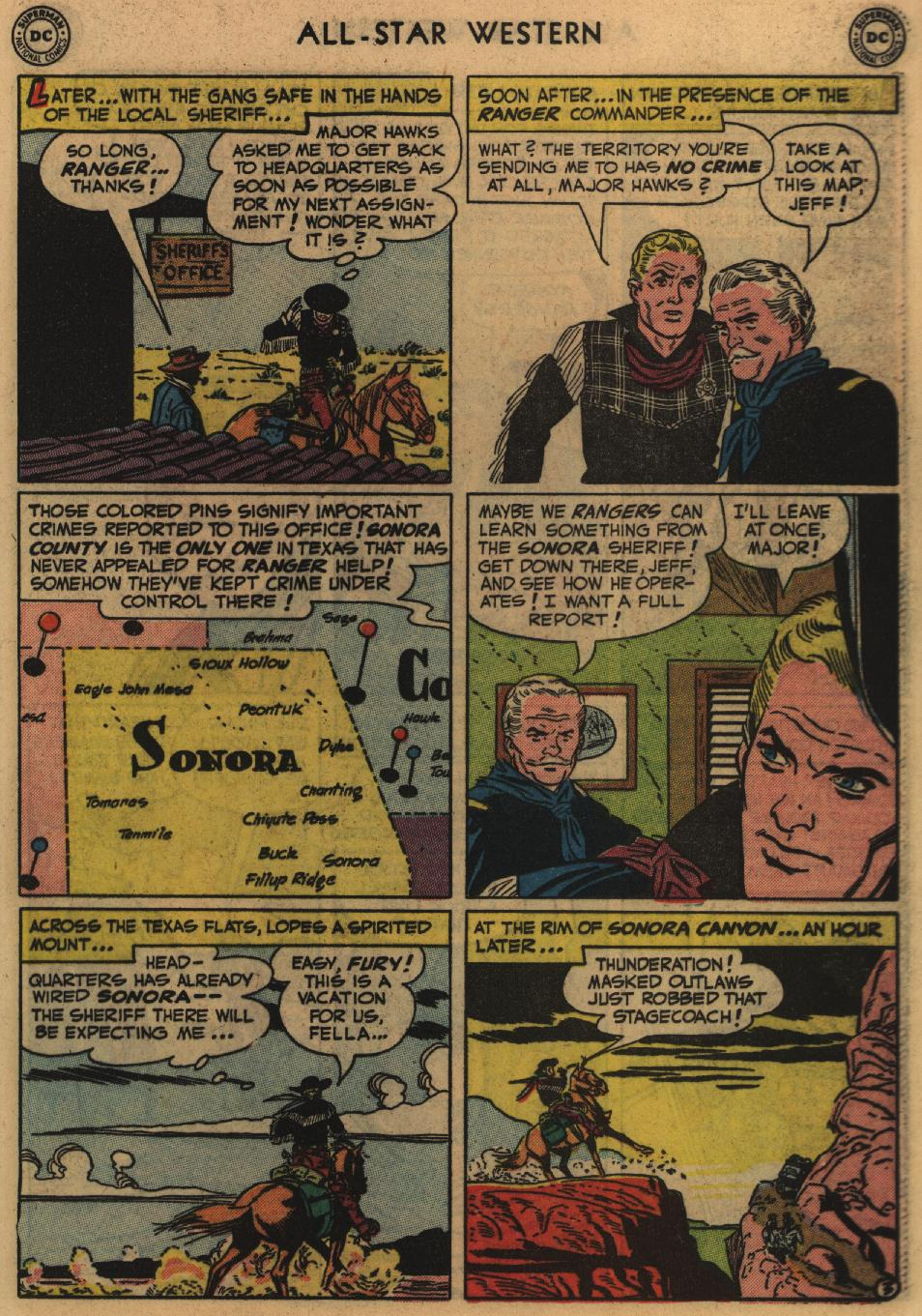 Read online All-Star Western (1951) comic -  Issue #60 - 29