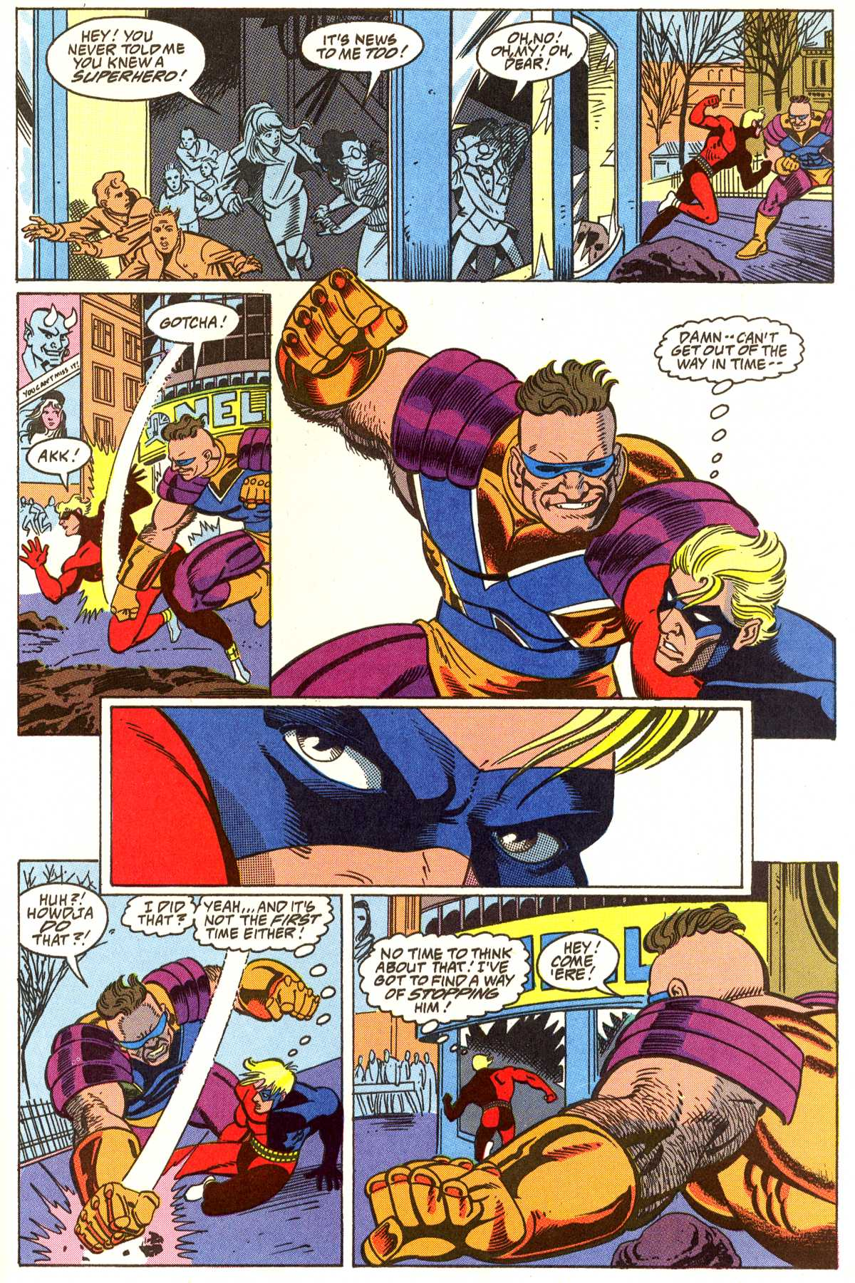 Read online Peter Cannon--Thunderbolt (1992) comic -  Issue #5 - 18