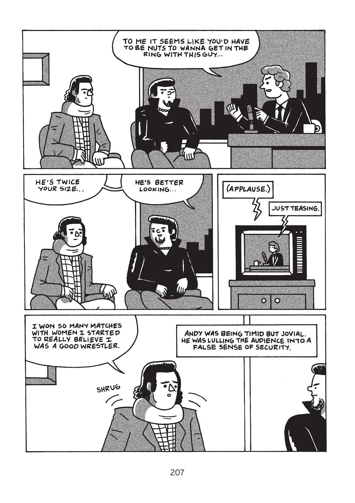 Read online Is This Guy For Real?: The Unbelievable Andy Kaufman comic -  Issue # TPB (Part 3) - 12