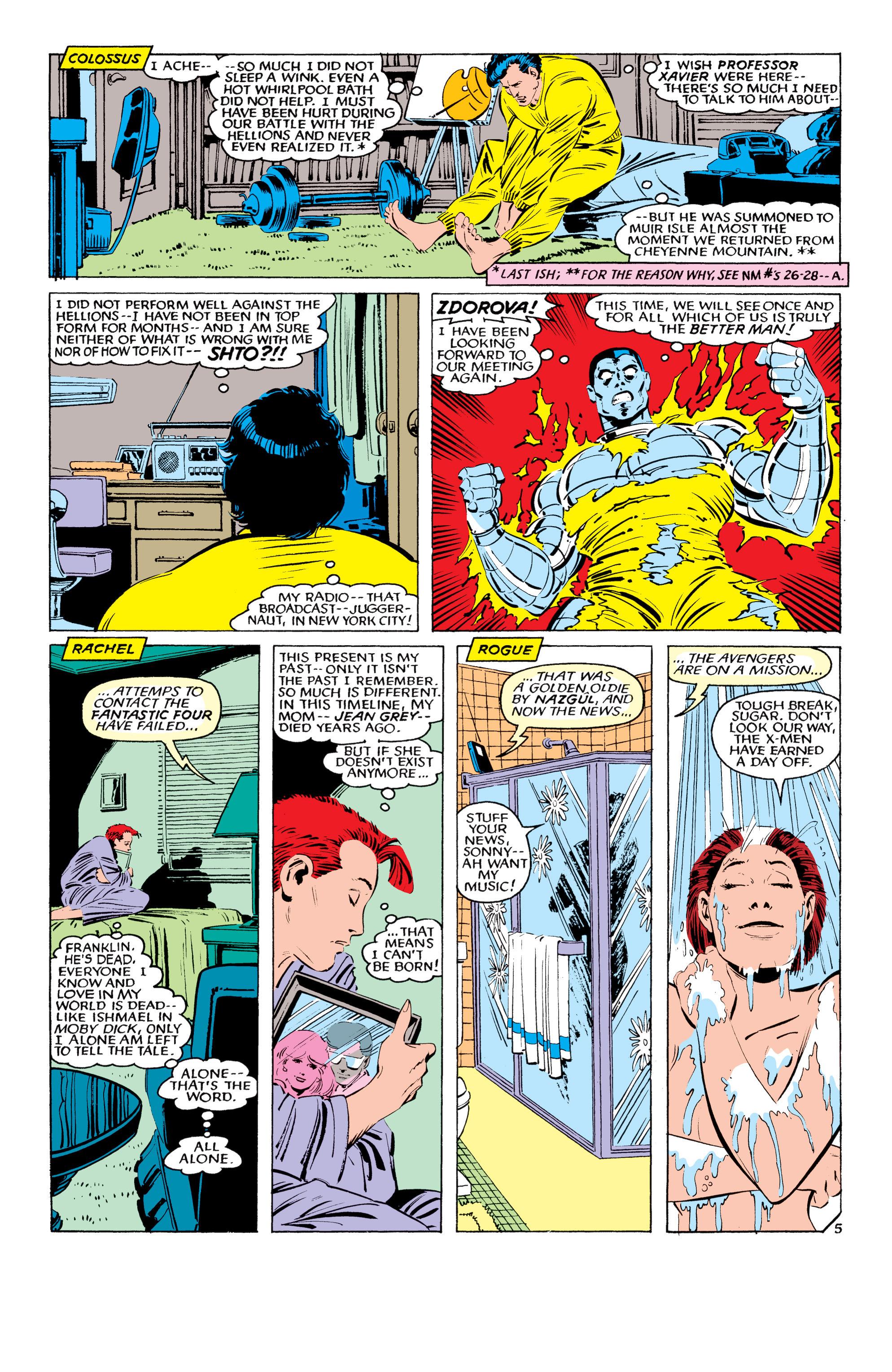 Read online Uncanny X-Men (1963) comic -  Issue #194 - 6