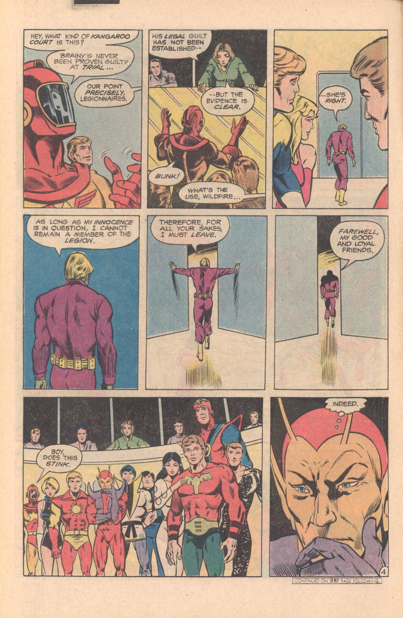 Legion of Super-Heroes (1980) 273 Page 4