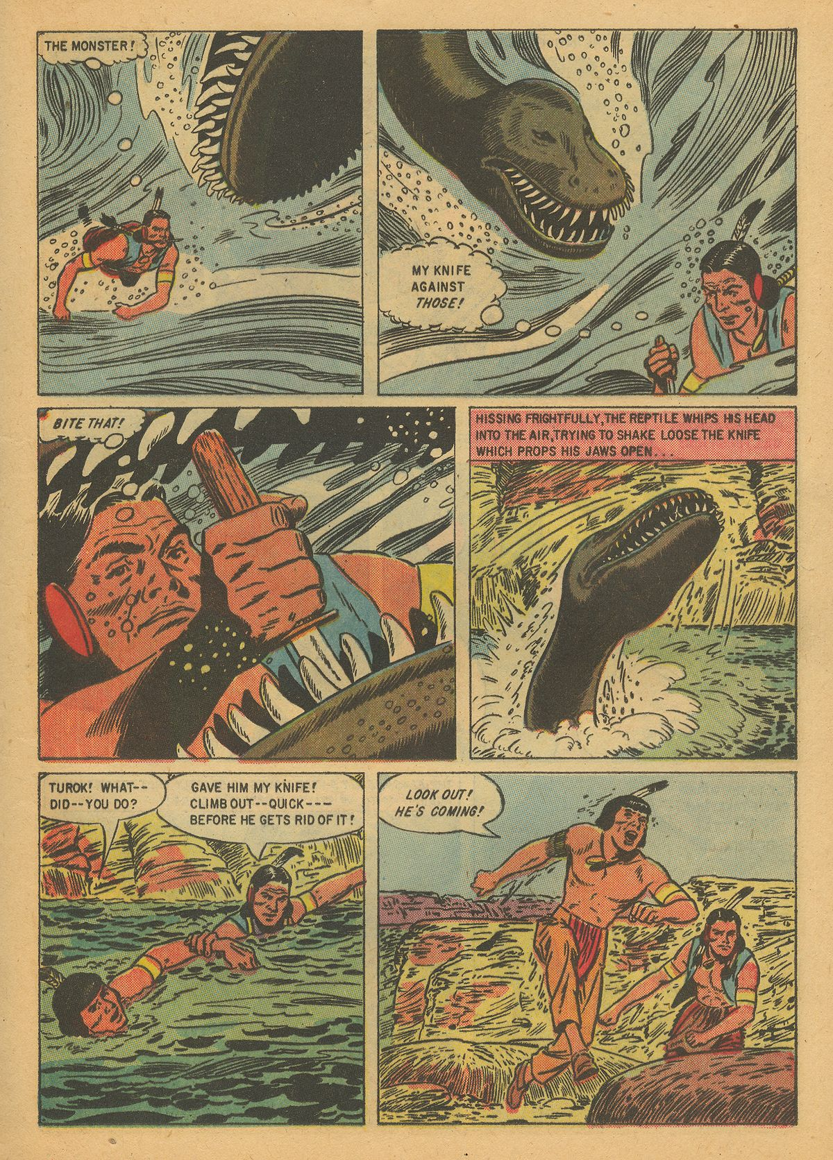Read online Turok, Son of Stone comic -  Issue #8 - 13