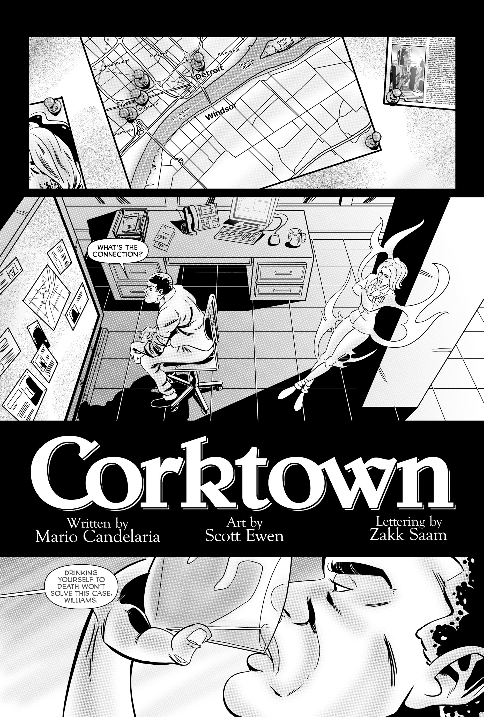 Read online Corktown comic -  Issue #2 - 4