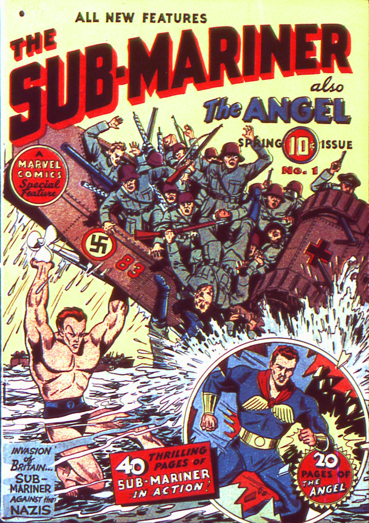 Sub-Mariner Comics 1 Page 1