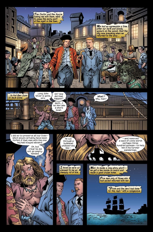Read online Treasure Island comic -  Issue #6 - 21