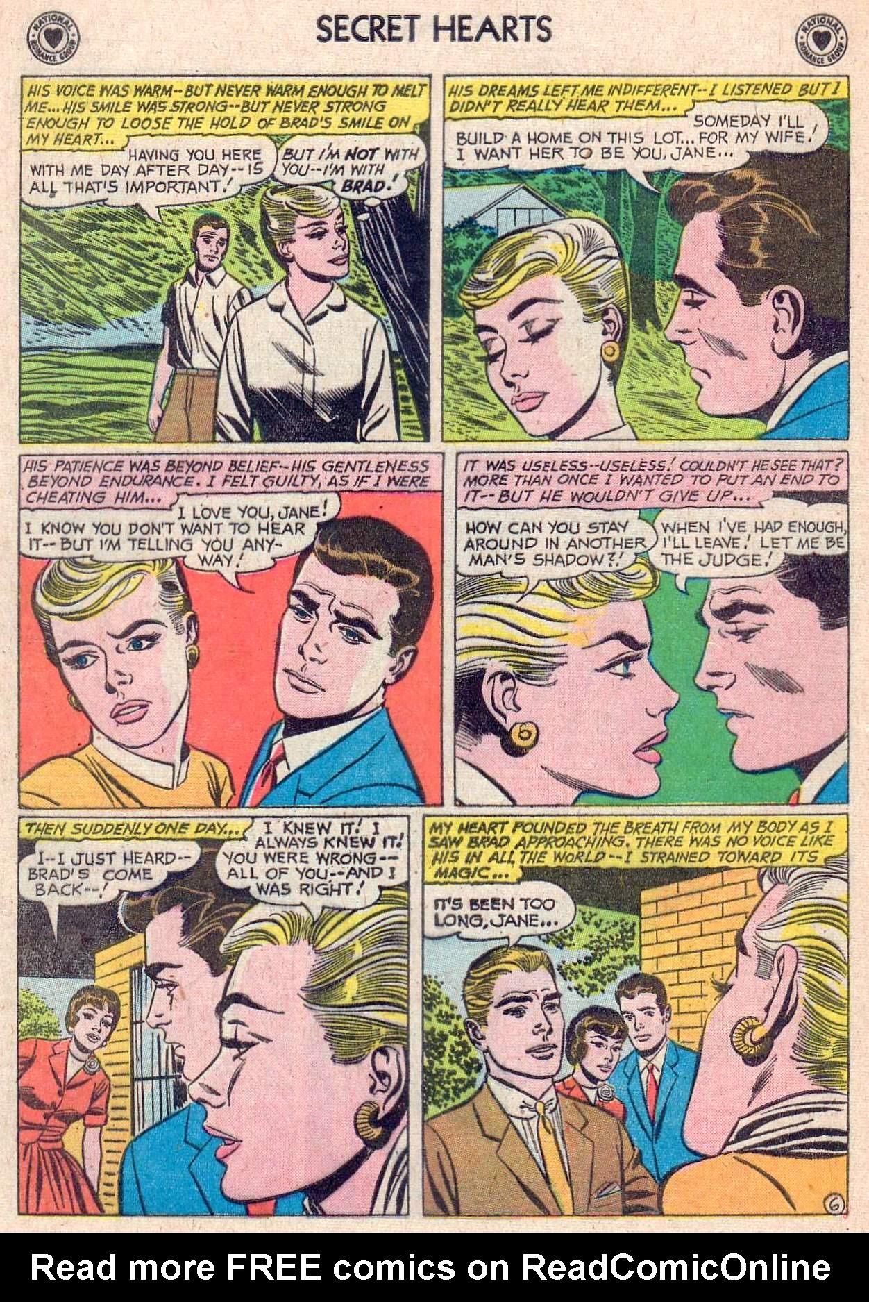 Read online Secret Hearts comic -  Issue #67 - 16
