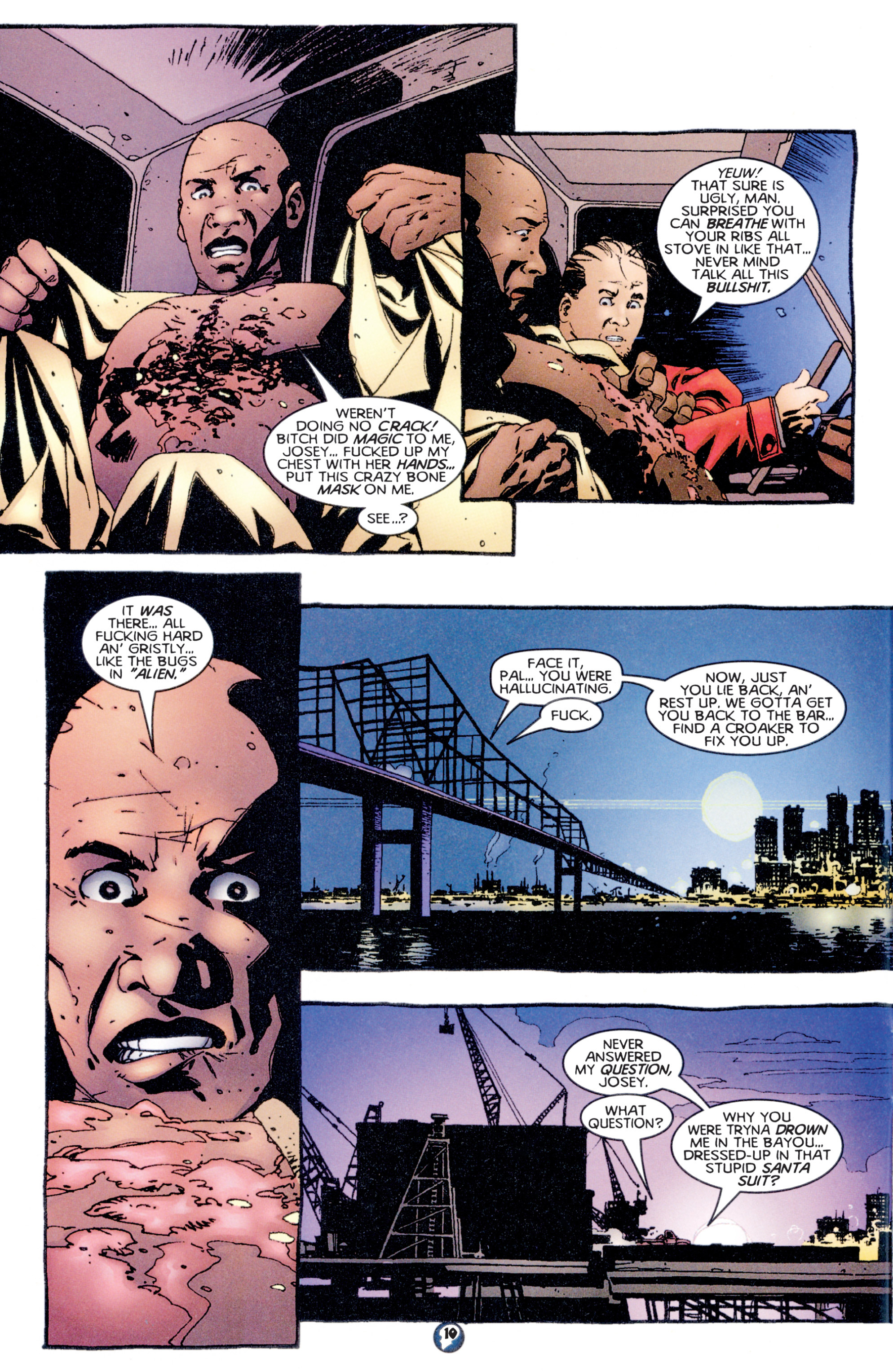 Read online Shadowman (1997) comic -  Issue #5 - 9