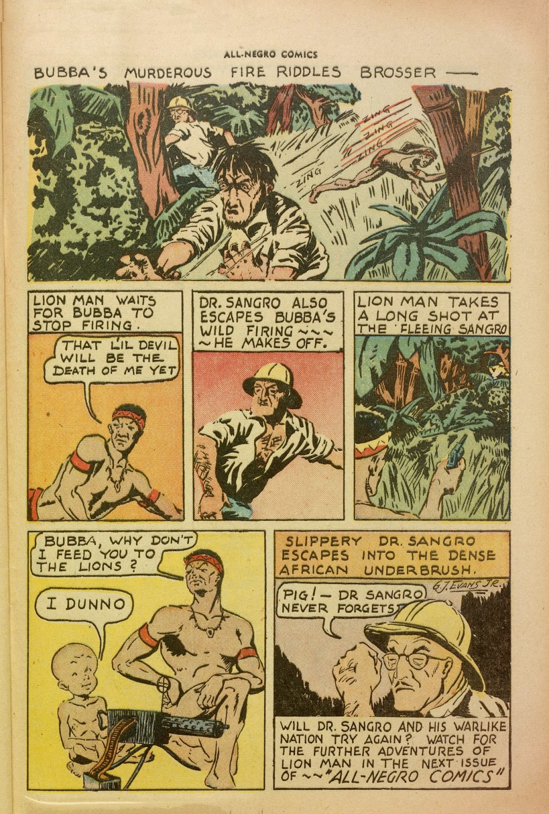 All-Negro Comics issue Full - Page 38