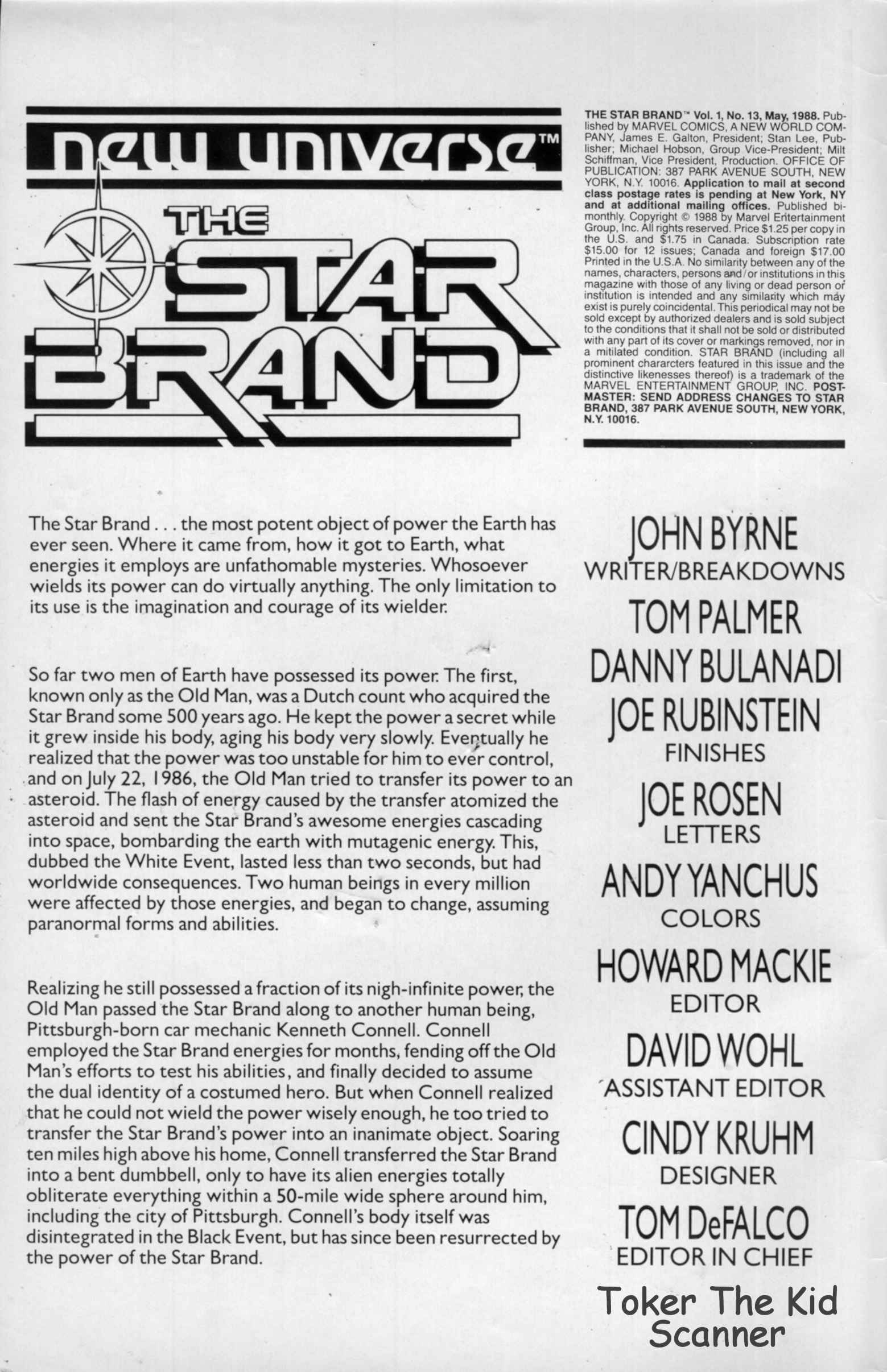 Read online Star Brand comic -  Issue #13 - 2