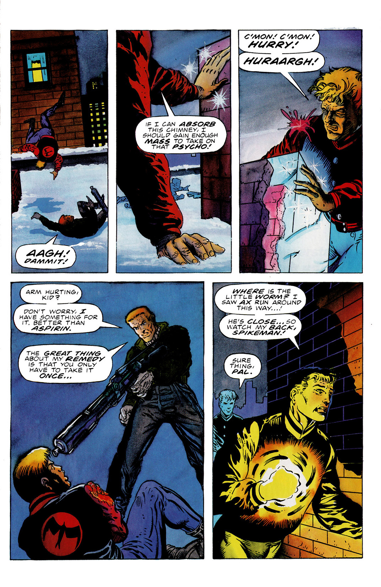 Read online Harbinger (1992) comic -  Issue #16 - 15