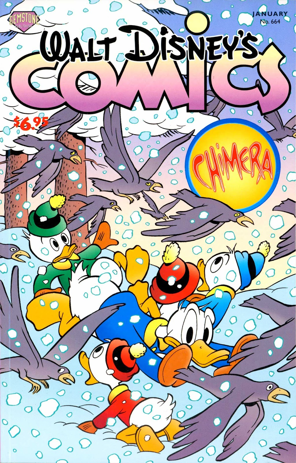Walt Disney's Comics and Stories issue 664 - Page 1