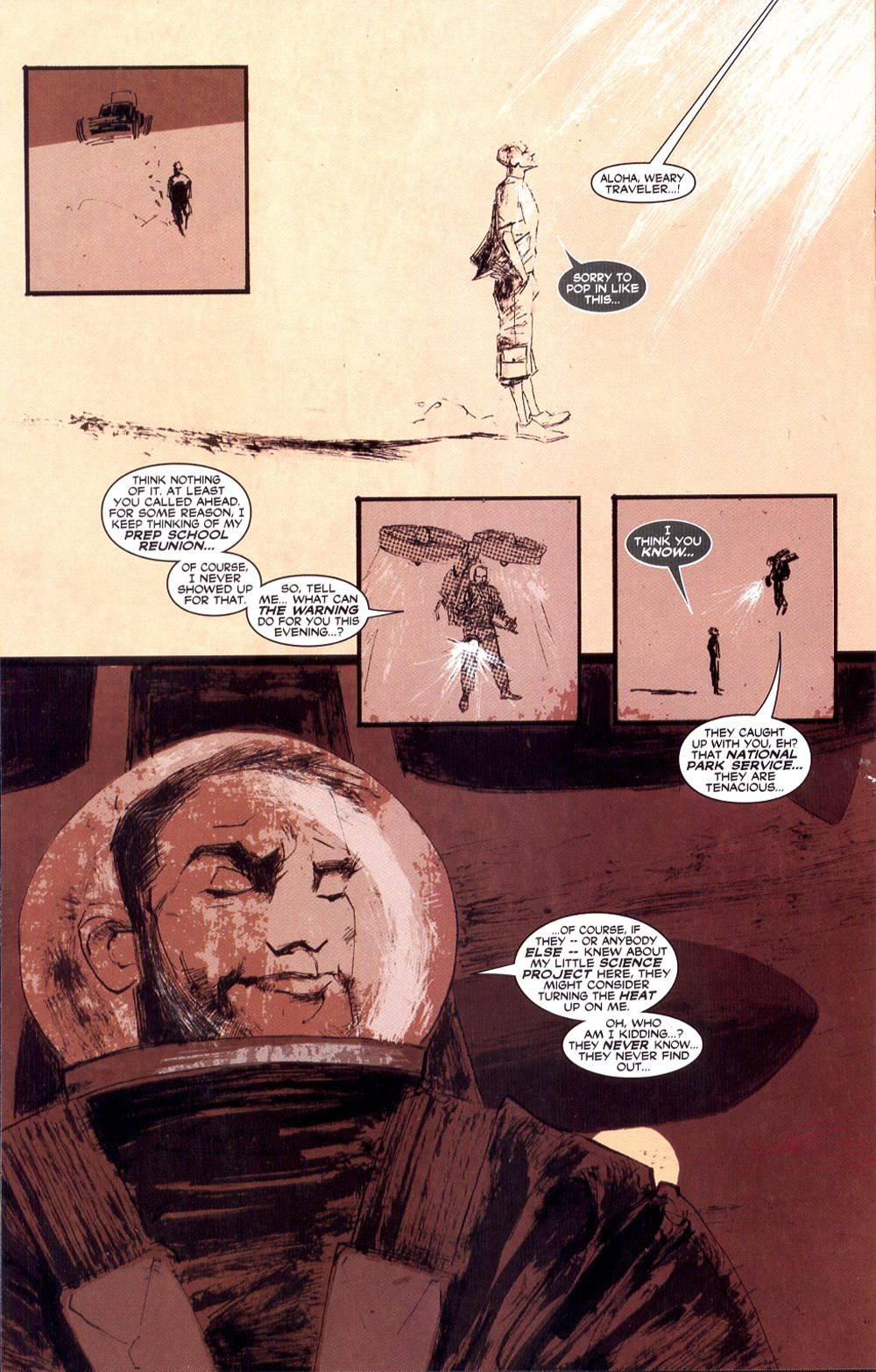 Read online Automatic Kafka comic -  Issue #3 - 16