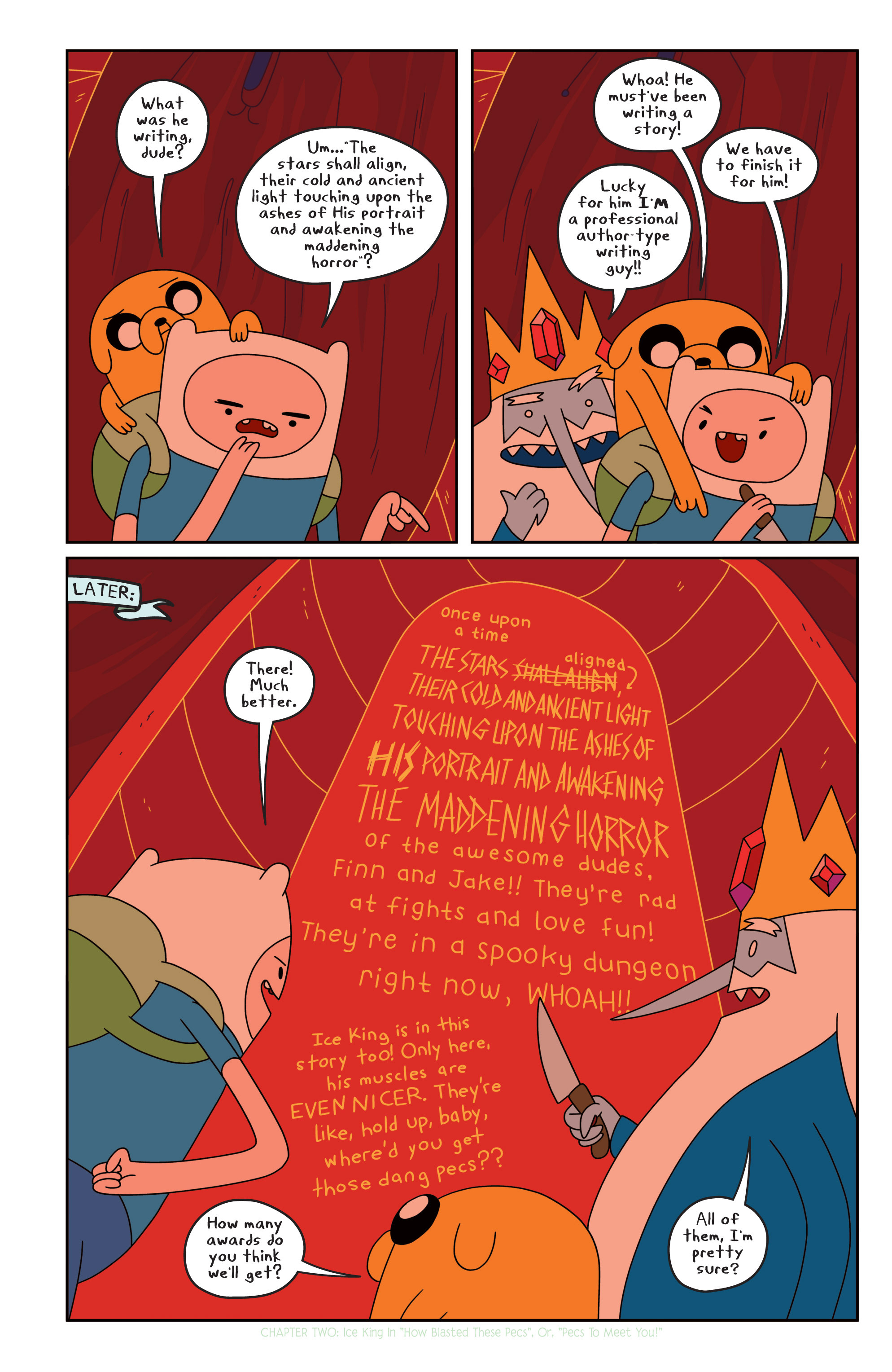 Read online Adventure Time comic -  Issue #17 - 16