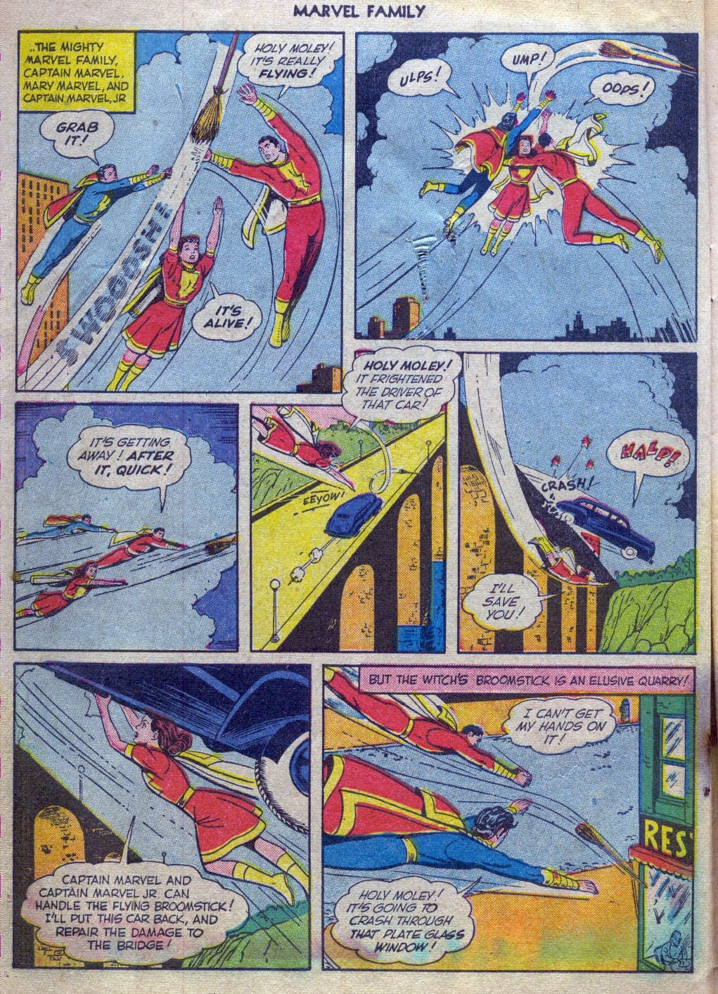 The Marvel Family issue 52 - Page 5