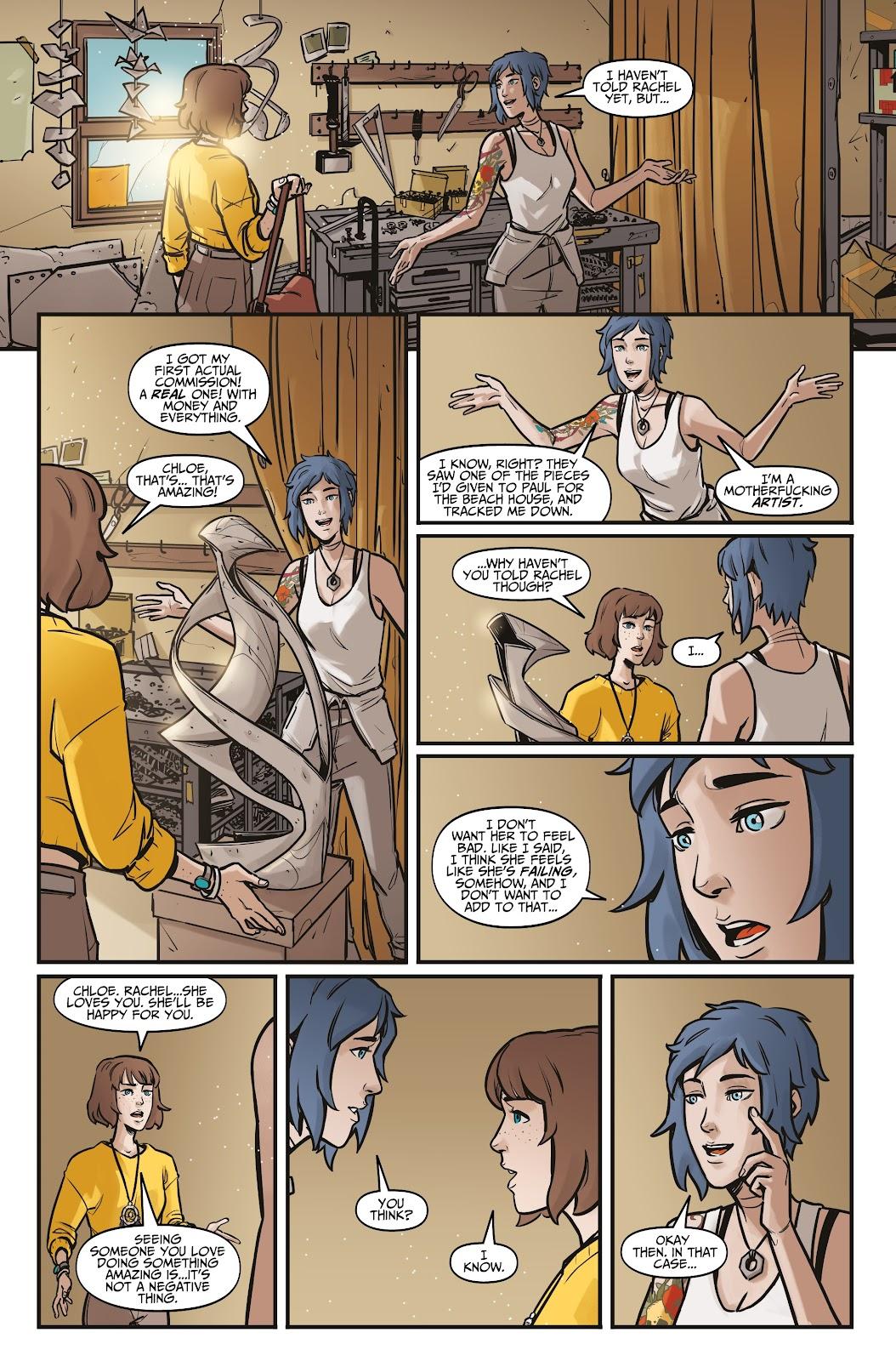 Read online Life is Strange comic -  Issue #5 - 24