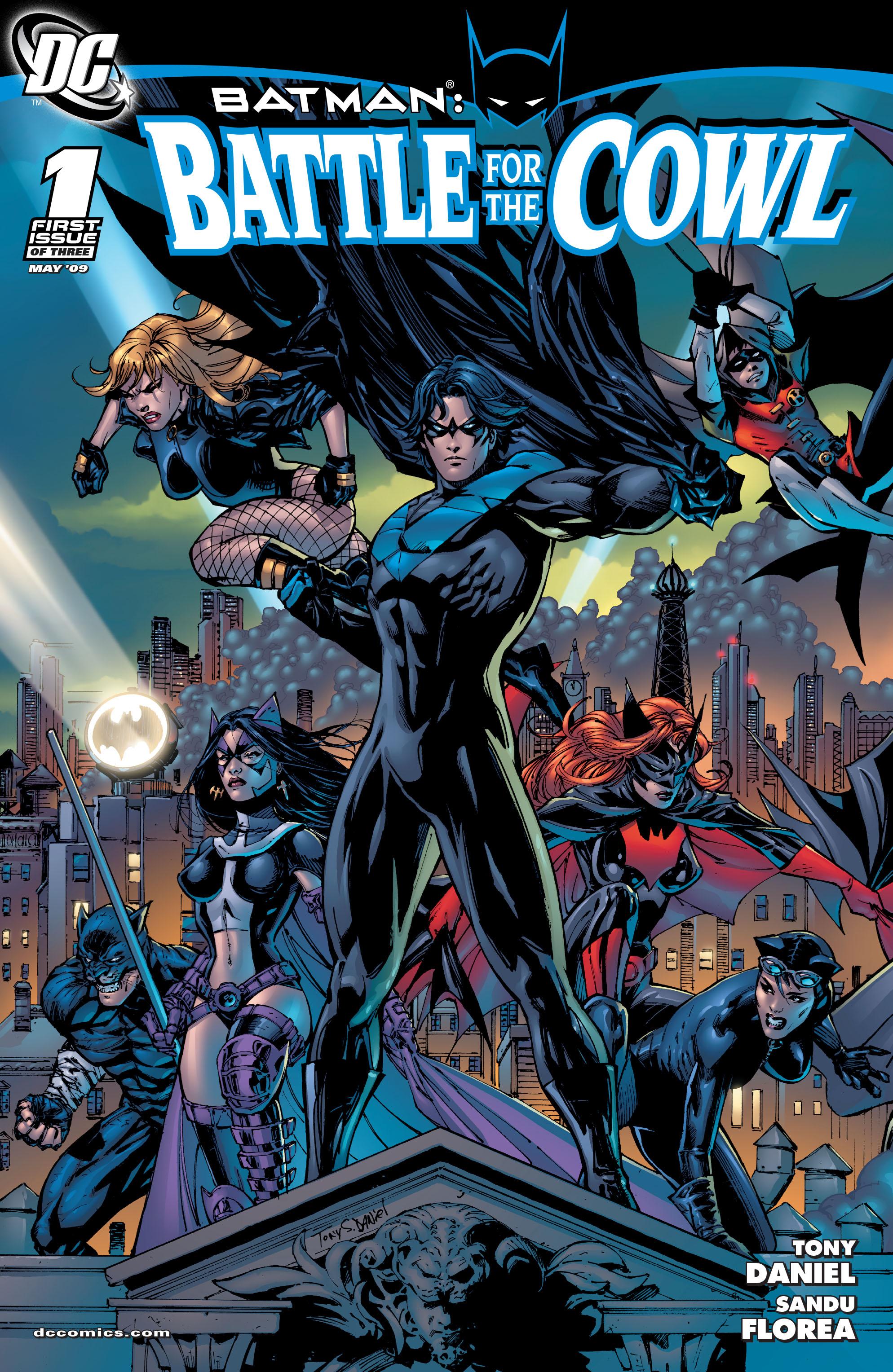 Batman: Battle for the Cowl 1 Page 1