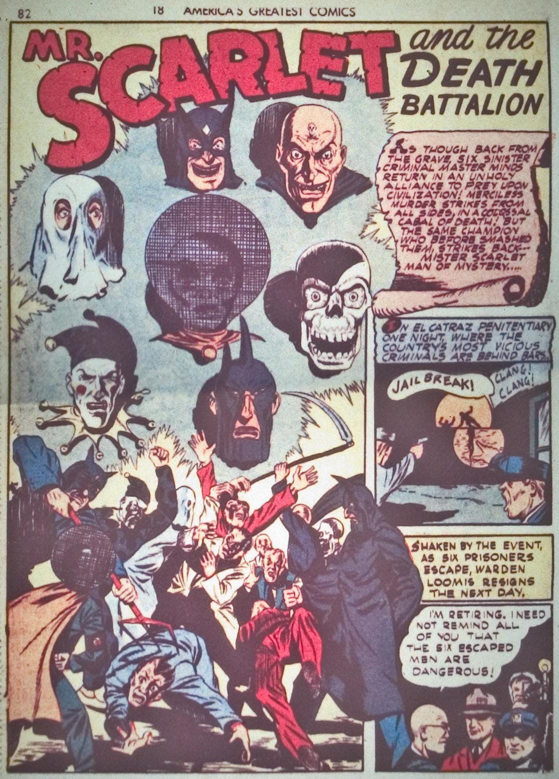 Read online America's Greatest Comics comic -  Issue #1 - 85