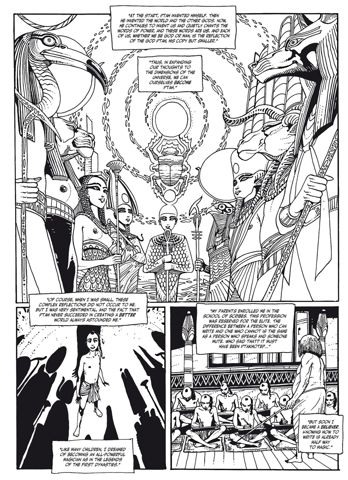 Read online The Egyptian Princesses comic -  Issue # TPB 1 (Part 3) - 20