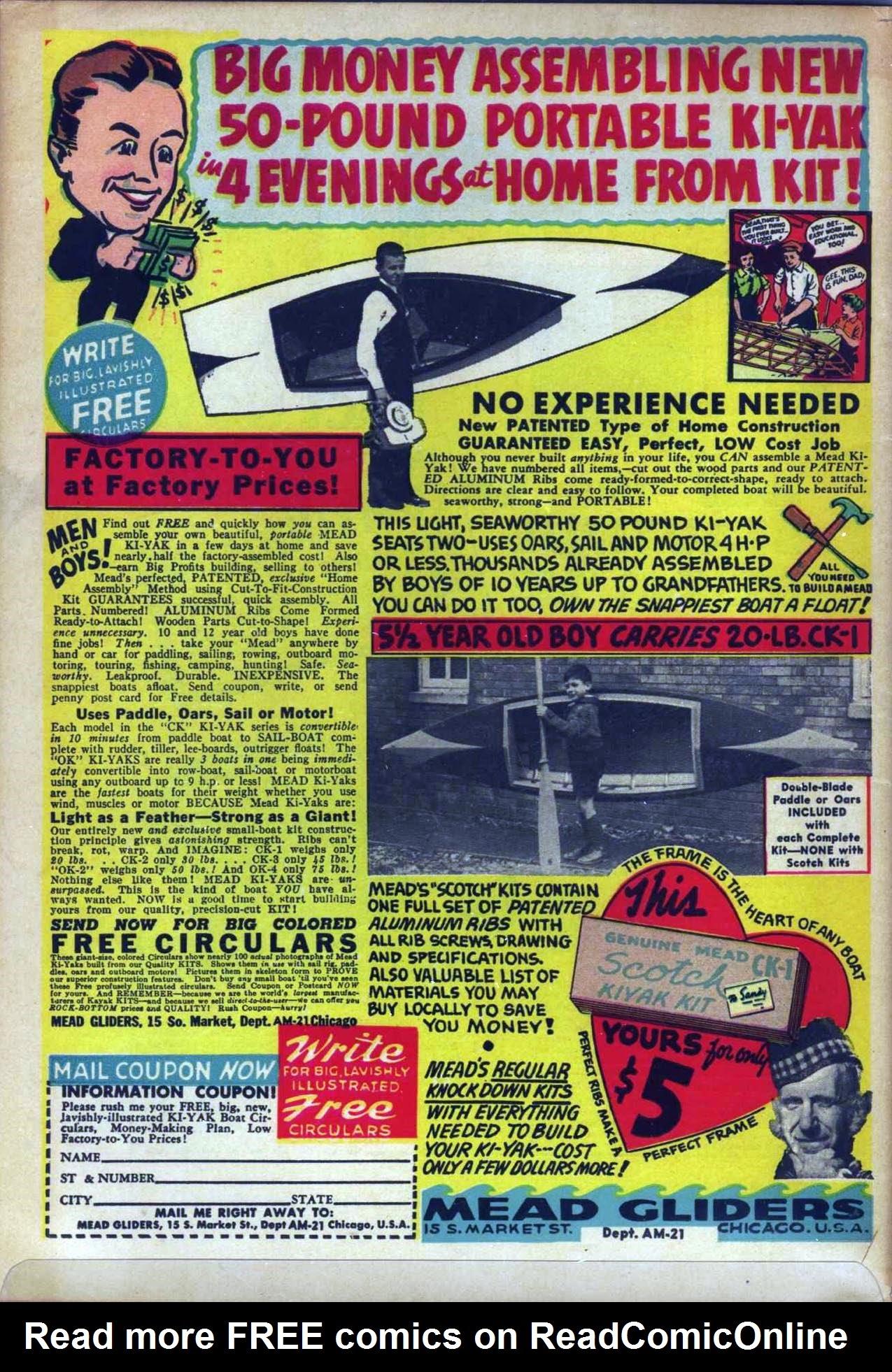 Read online Amazing Man Comics comic -  Issue #20 - 69