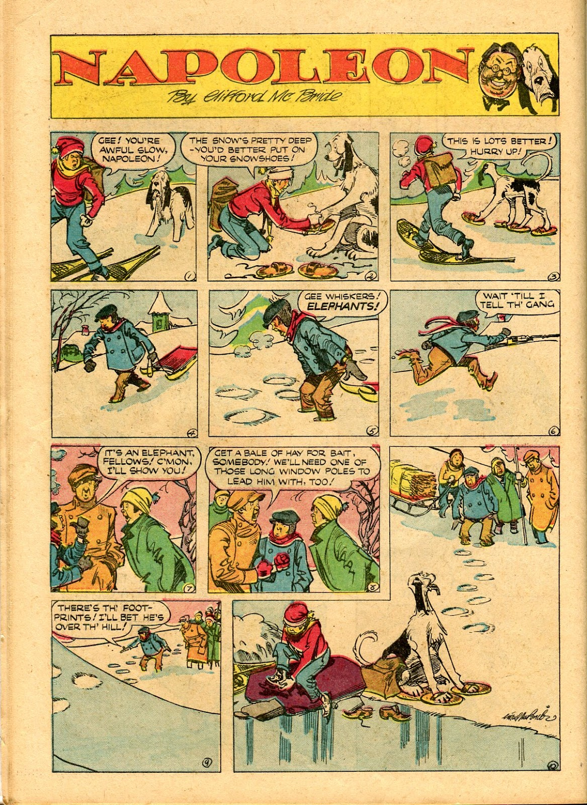 Read online Famous Funnies comic -  Issue #101 - 56