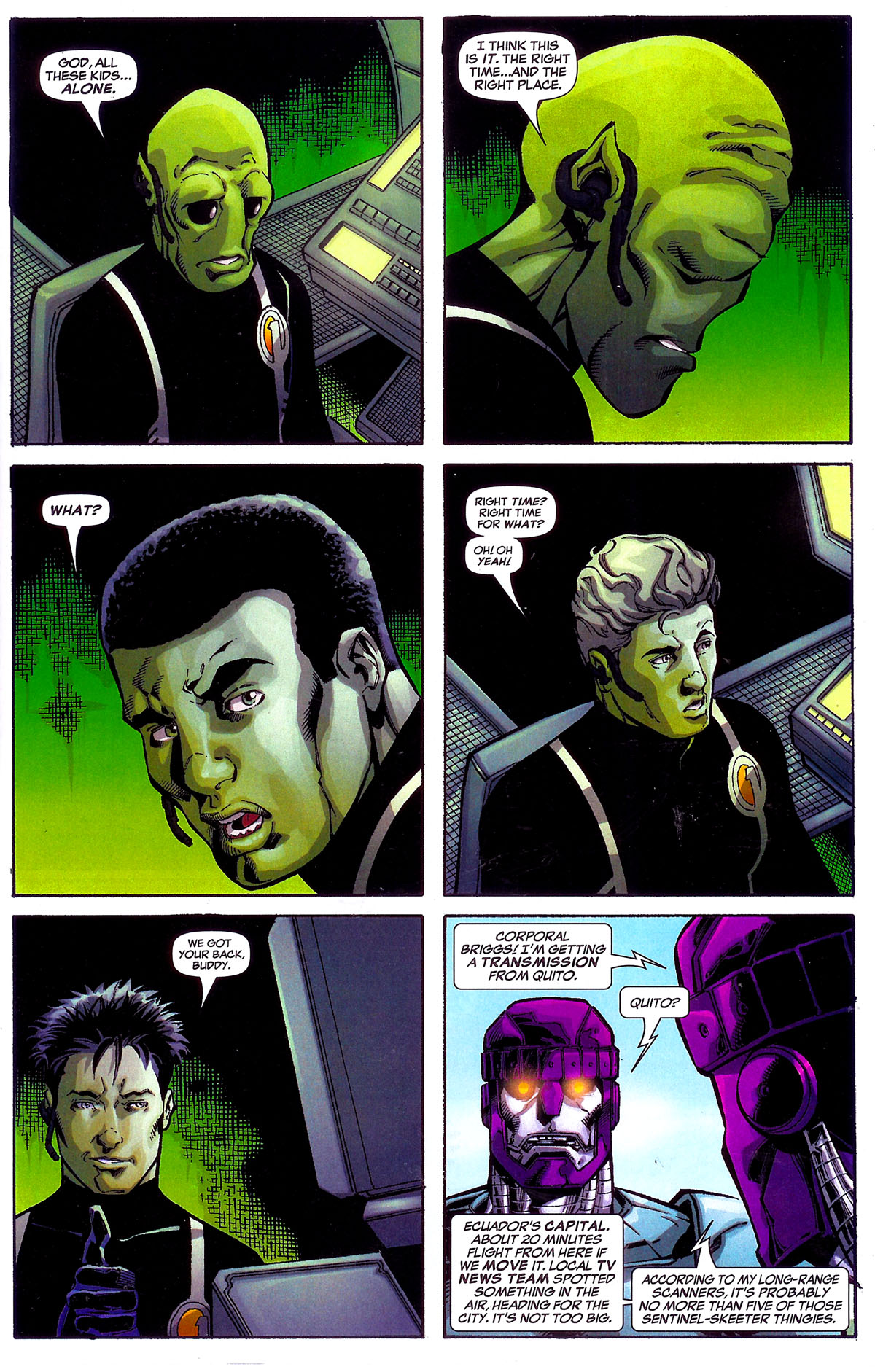 Read online Sentinel Squad O*N*E comic -  Issue #5 - 16